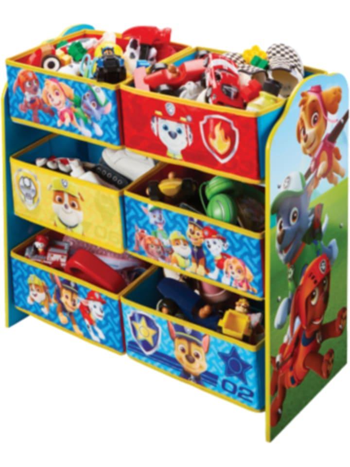 Paw Patrol Spielzeugregal für Kinder