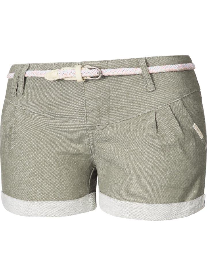 Ragwear Damen kurze Sommer Hose Bermuda Chino Shorts Hotpants Heaven Denim