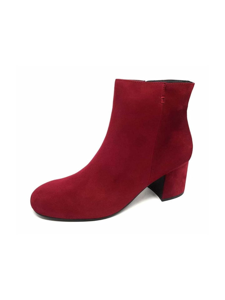 Stiefelette in rot