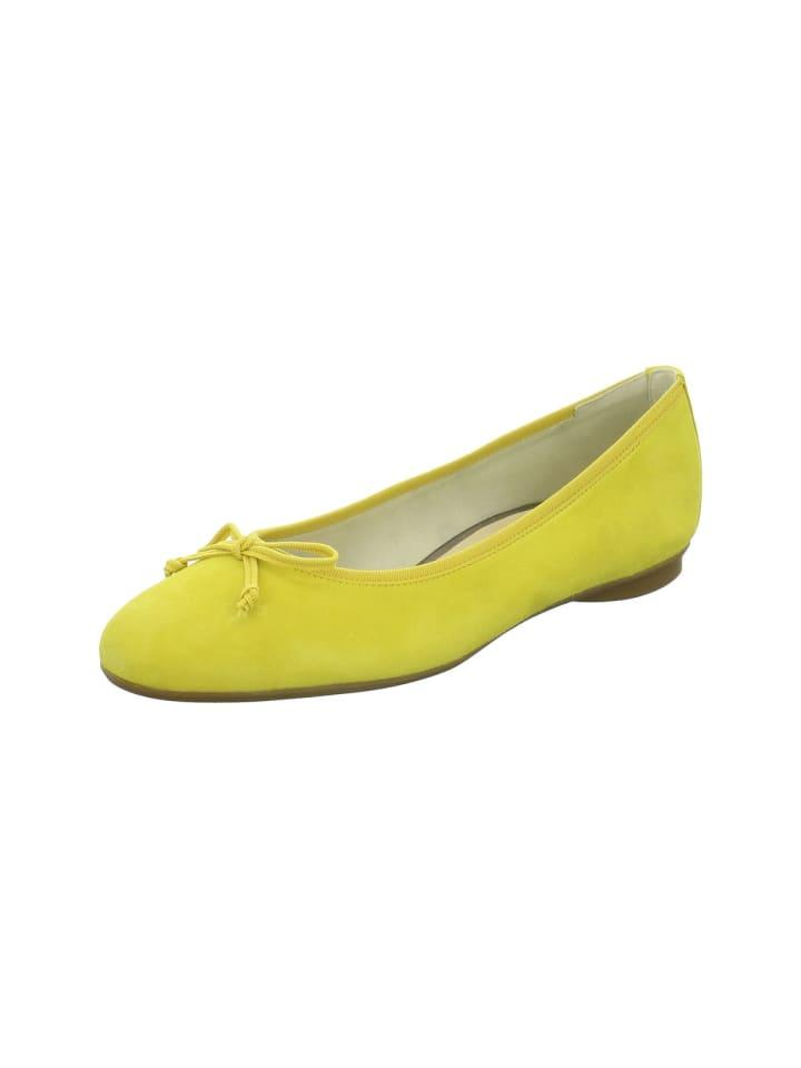 Ballerinas in gelb