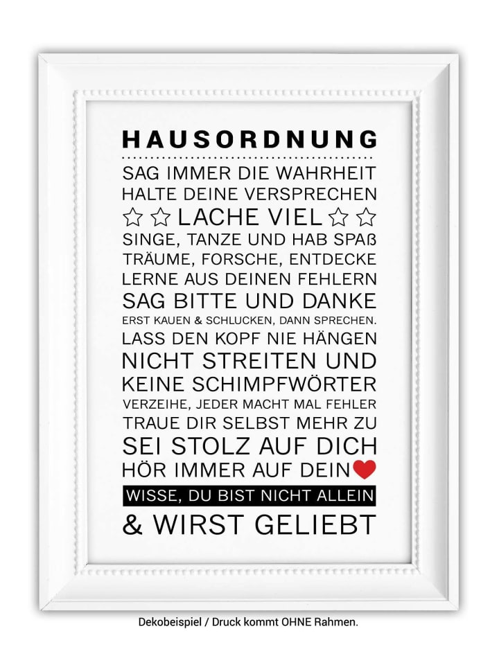 SMART ART Kunstdrucke - Kunstdruck \