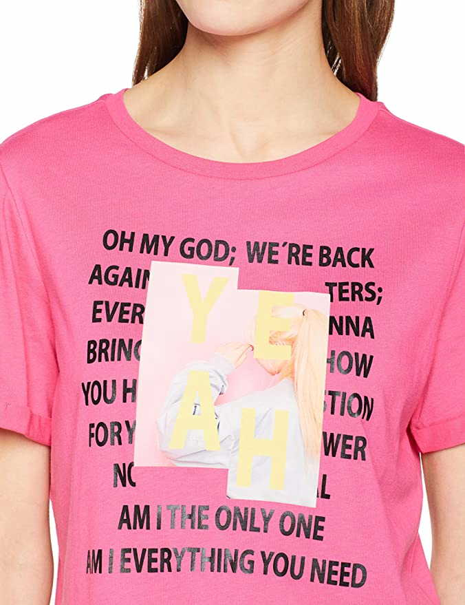 S. Oliver Oversized Rundkragen Shirt in pink günstig kaufen
