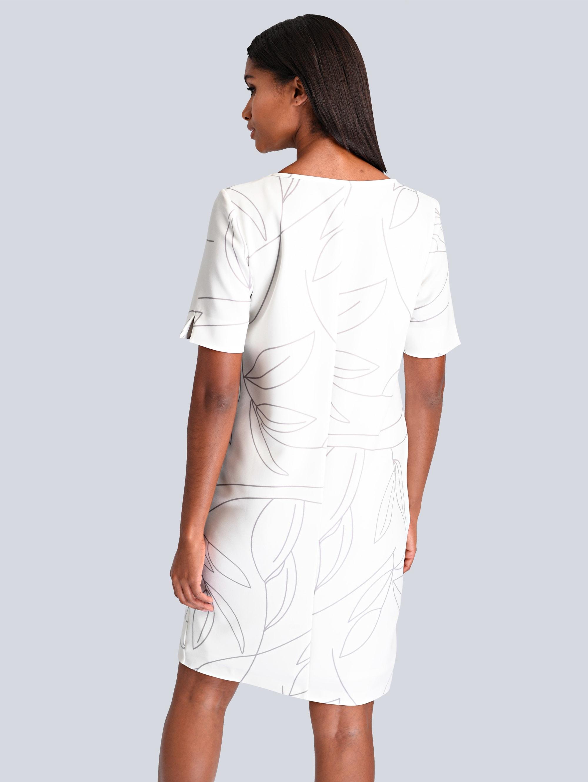 Alba Moda Kleid in Creme-Weiß günstig kaufen
