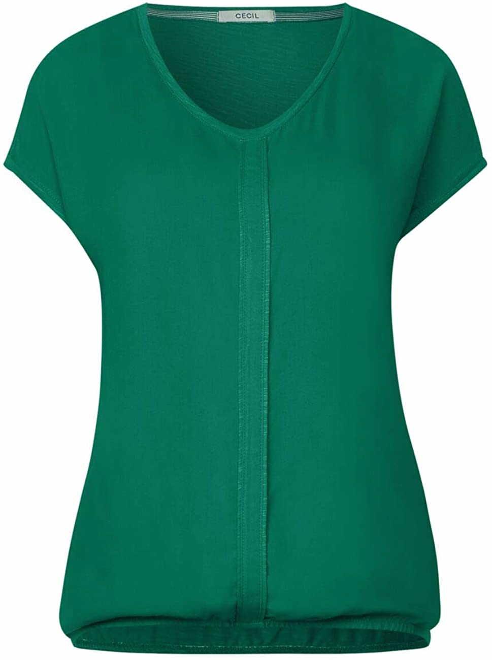 Cecil Rundhals T-Shirt in grün günstig kaufen