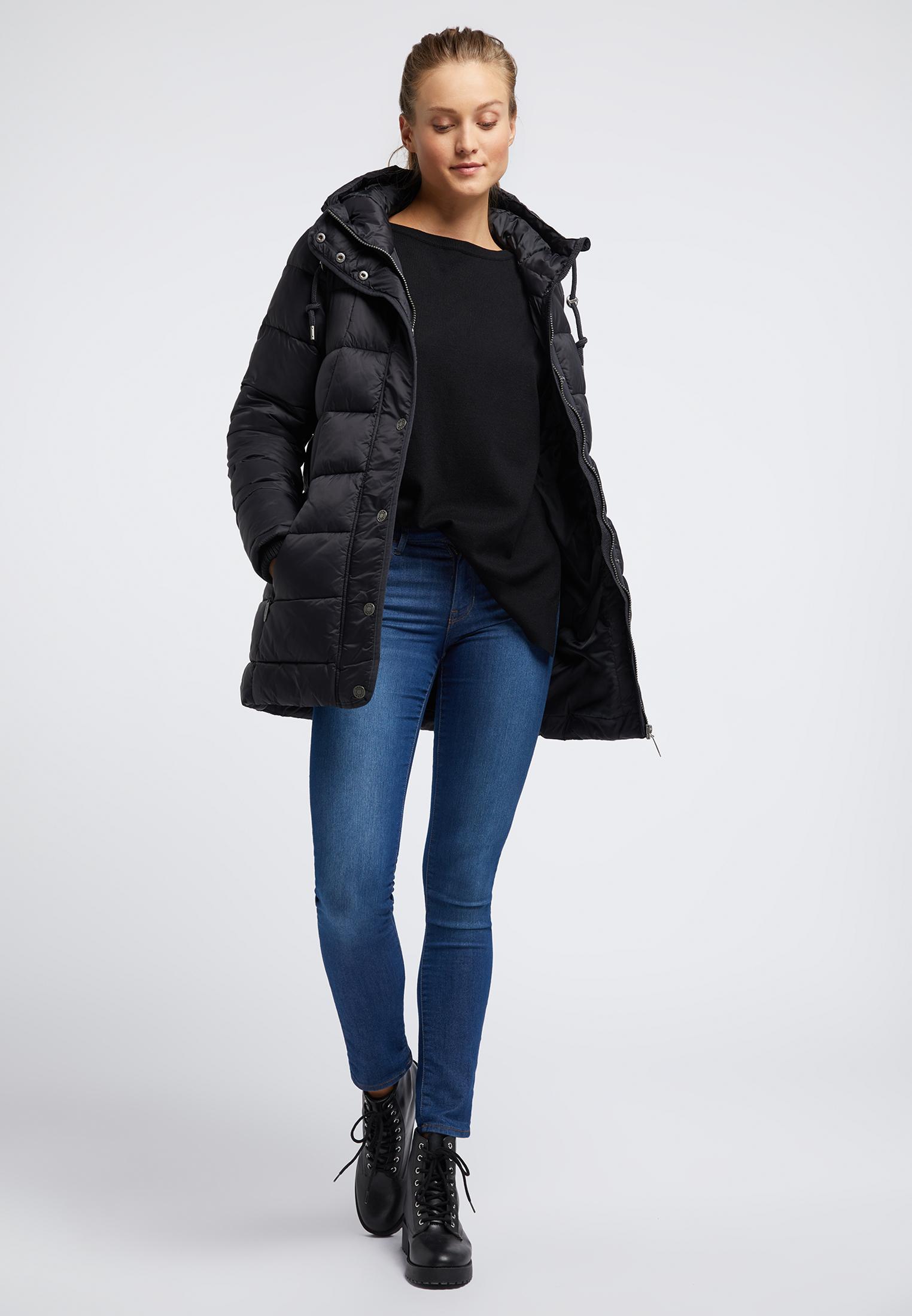 Usha BLUE LABEL Winterjacke in schwarz günstig kaufen