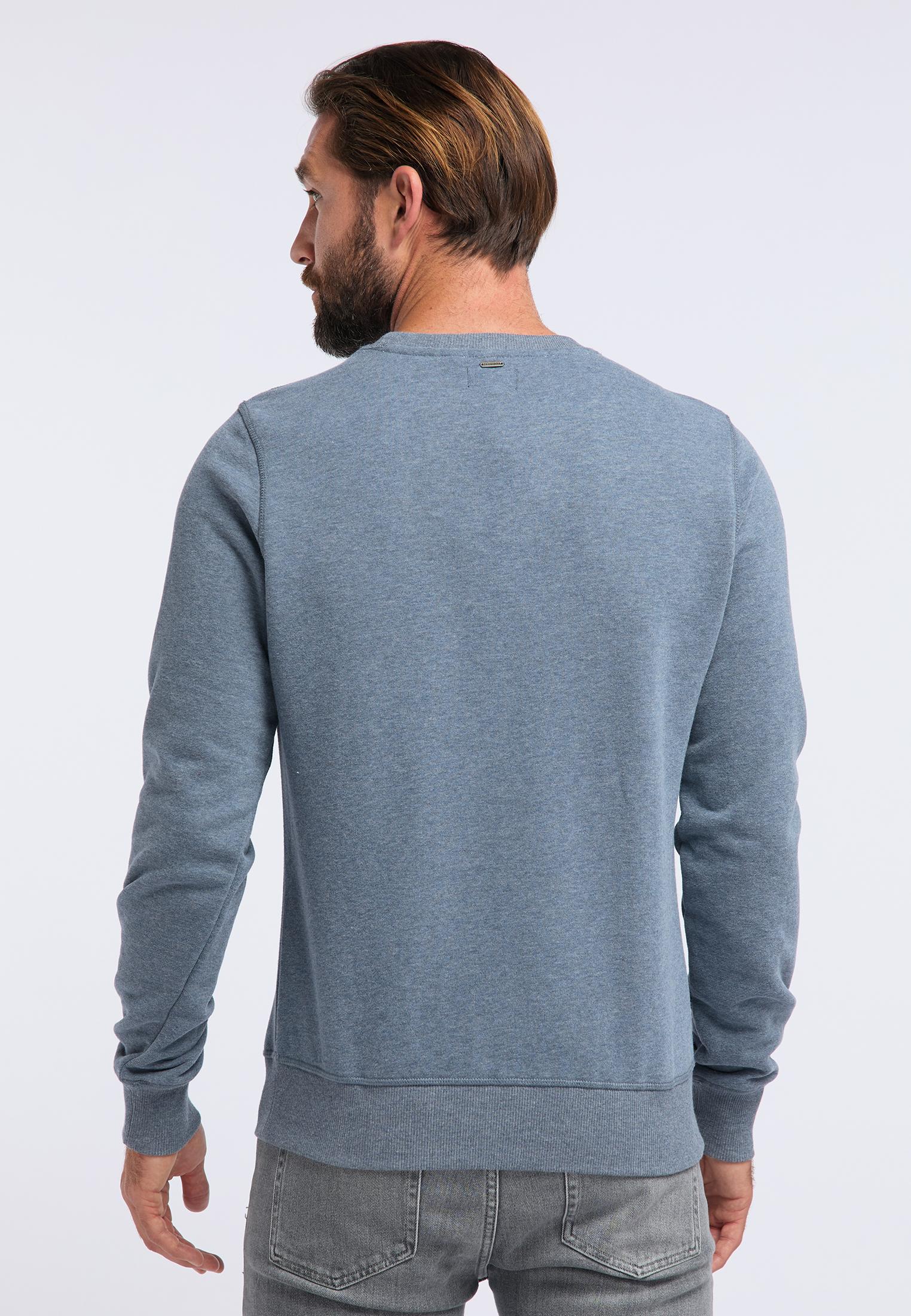 DreiMaster Maritim Sweatshirt in marine melange günstig kaufen