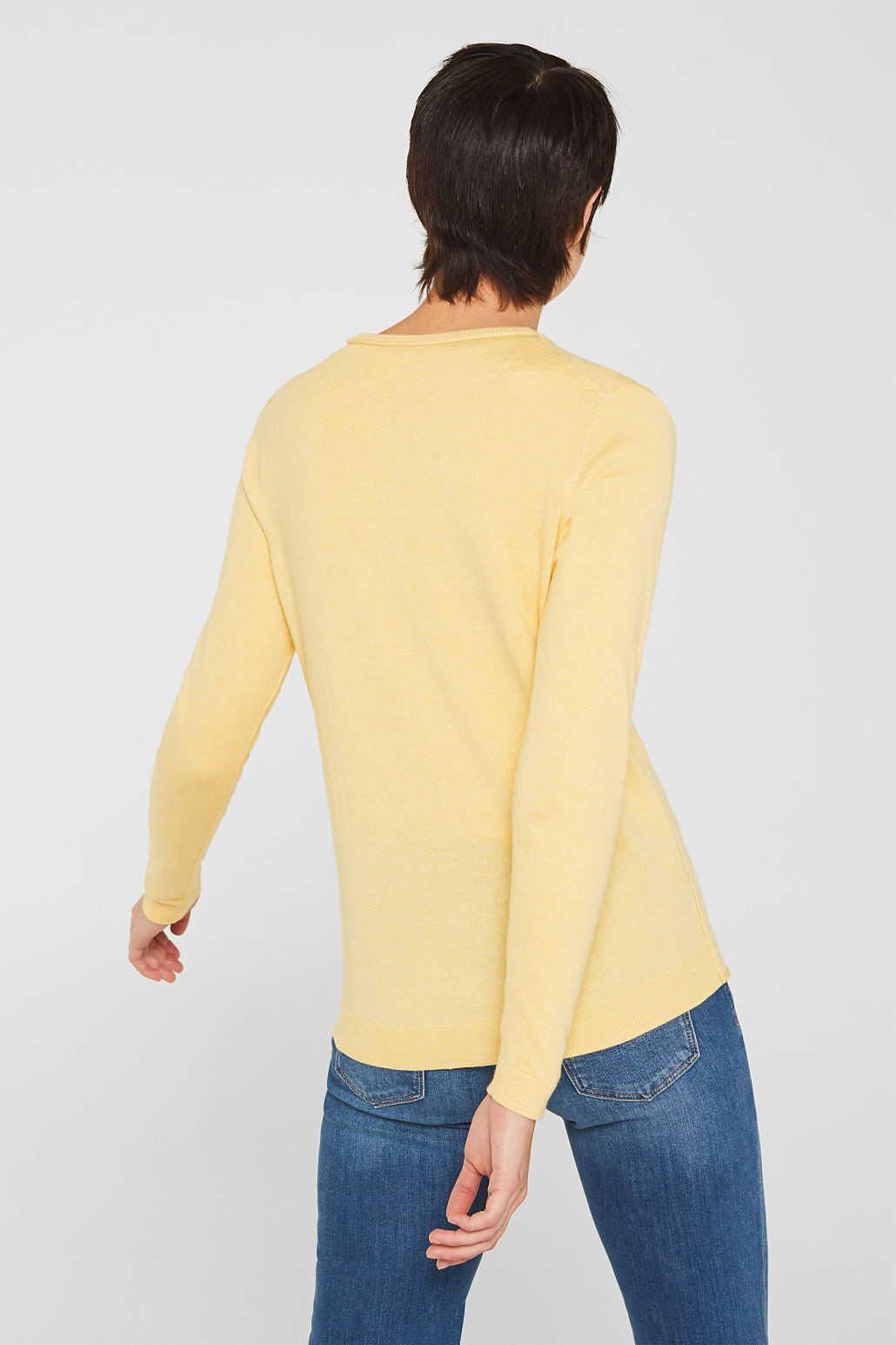 ESPRIT Cardigans in gelb günstig kaufen