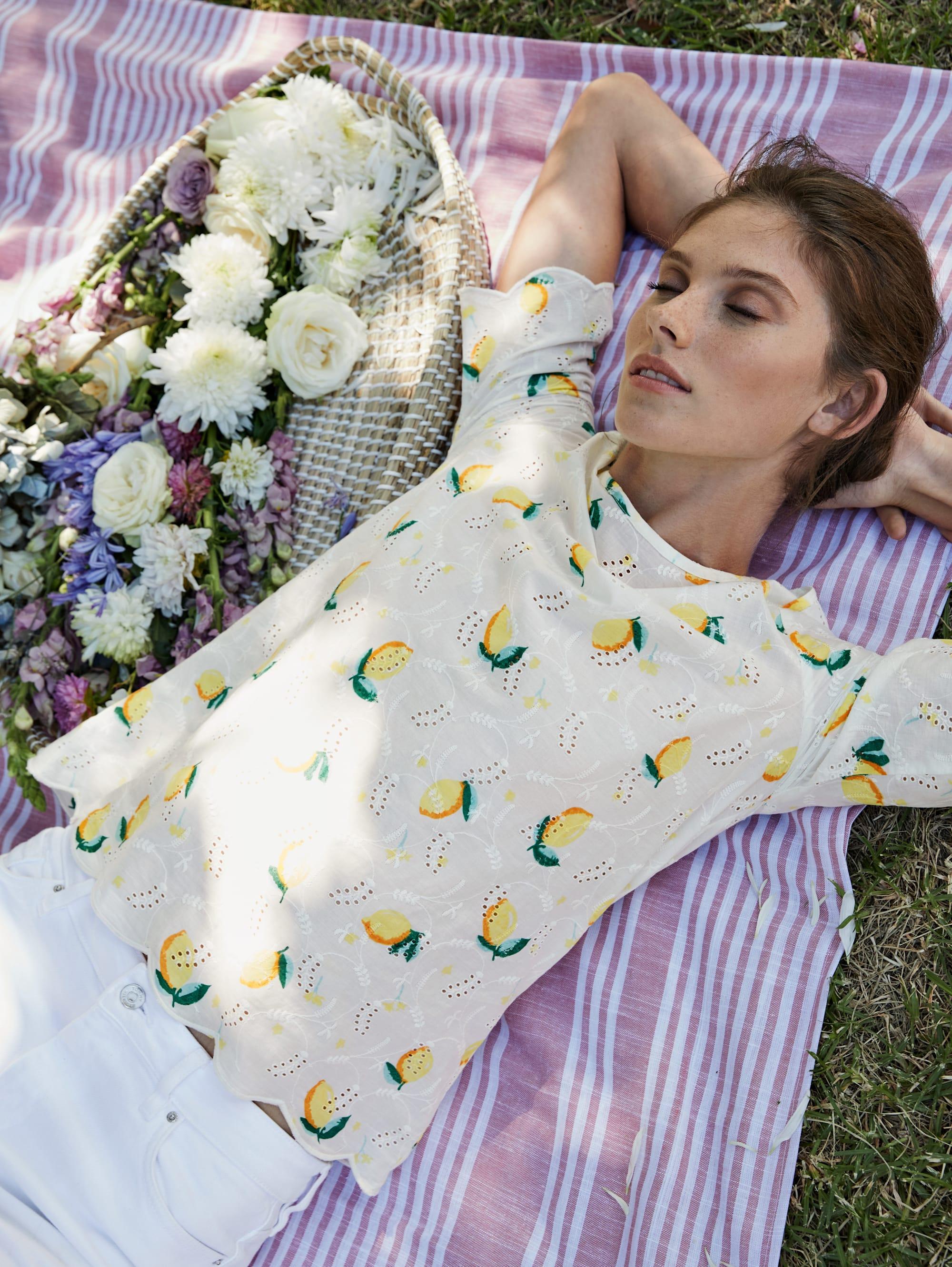 Sienna Bluse in Weiß günstig kaufen