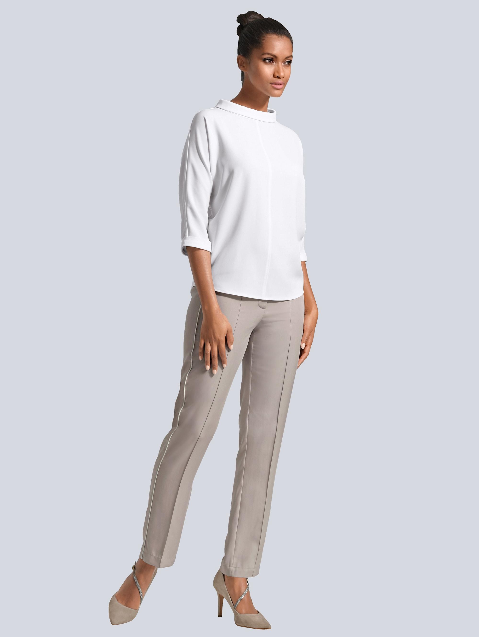 Alba Moda Bluse in Off-white günstig kaufen