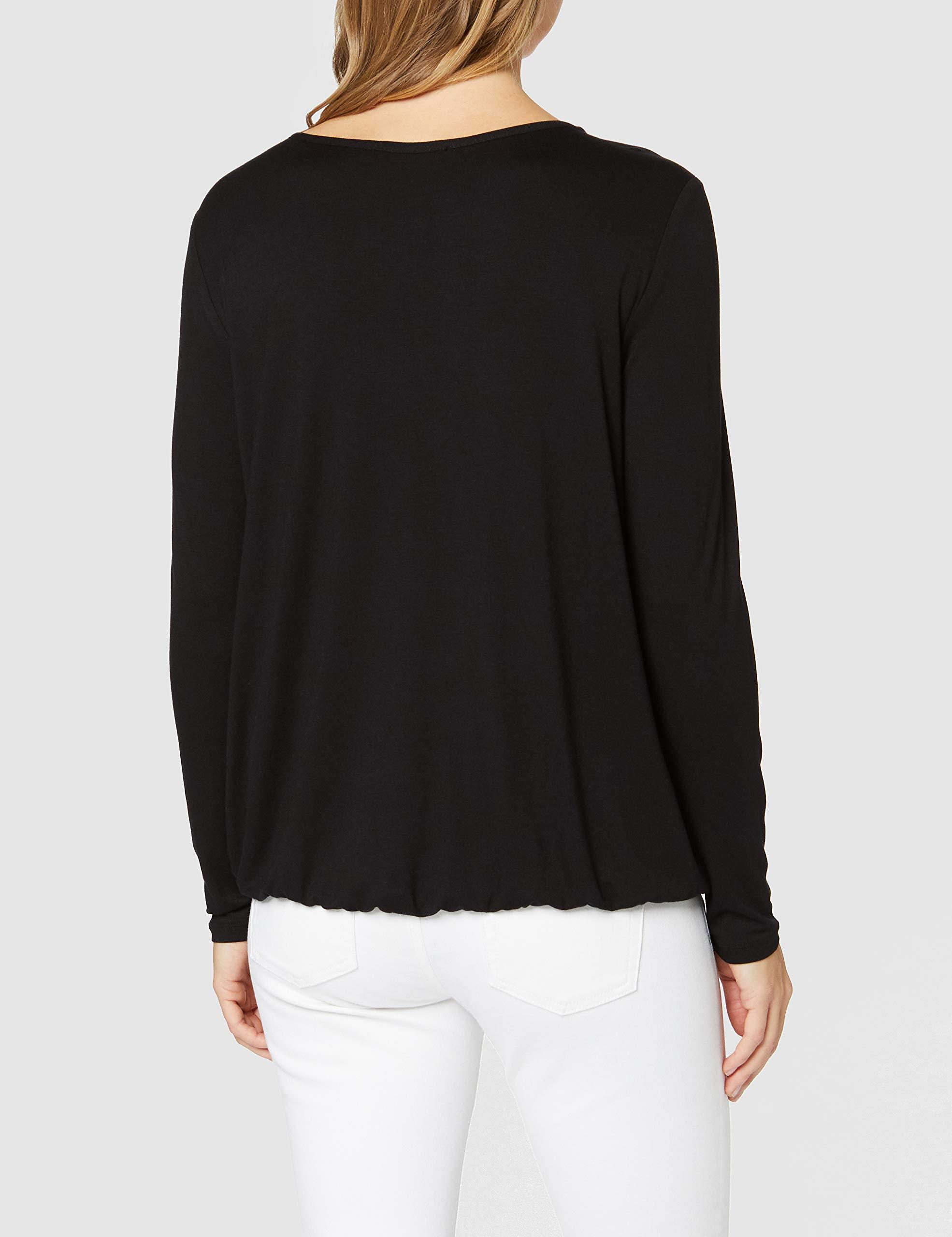 Betty Barclay Rundhals T-Shirt in schwarz günstig kaufen
