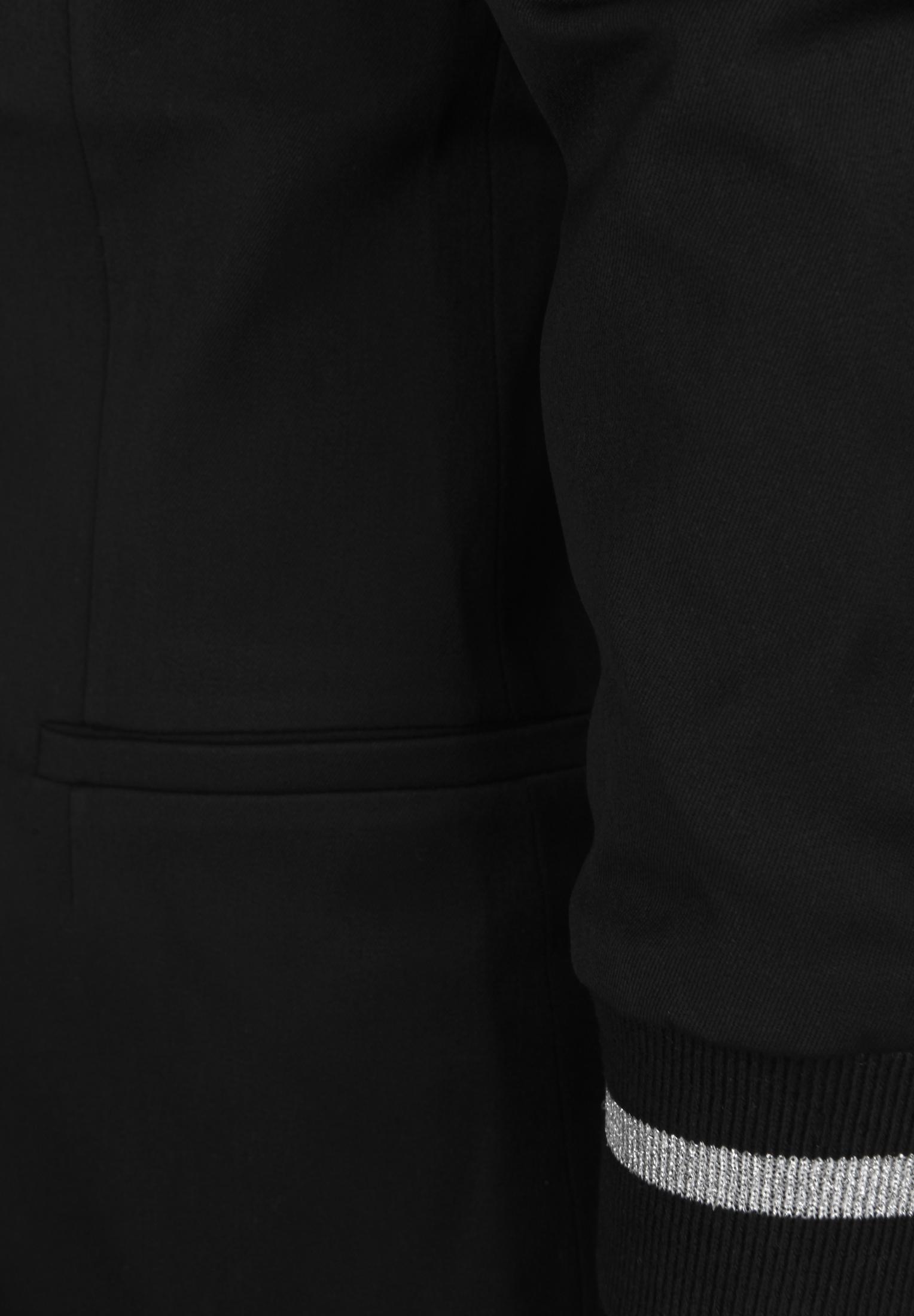 Miss goodlife Blazer mit gestreiften Bündchen in black günstig kaufen