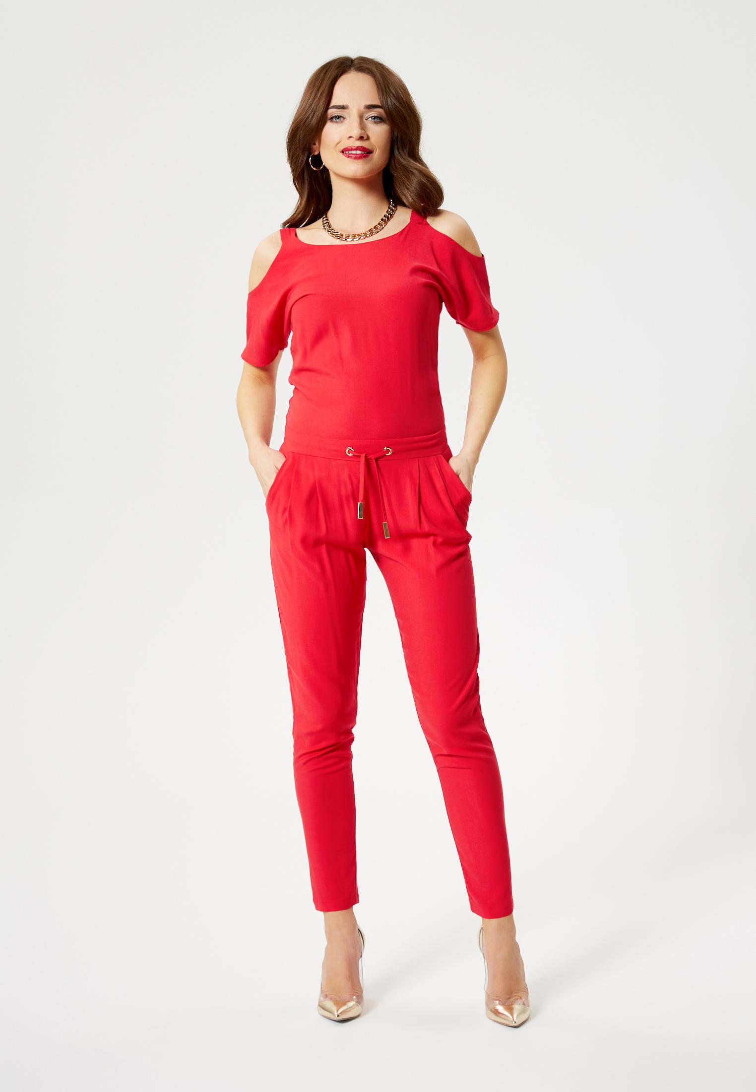 Faina Overall in rot günstig kaufen
