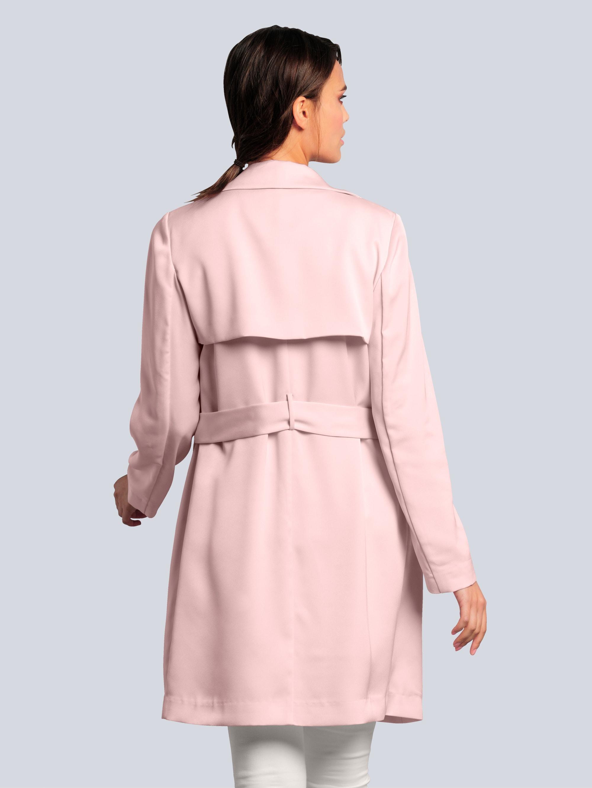 Alba Moda Kurzmantel in Rosé günstig kaufen