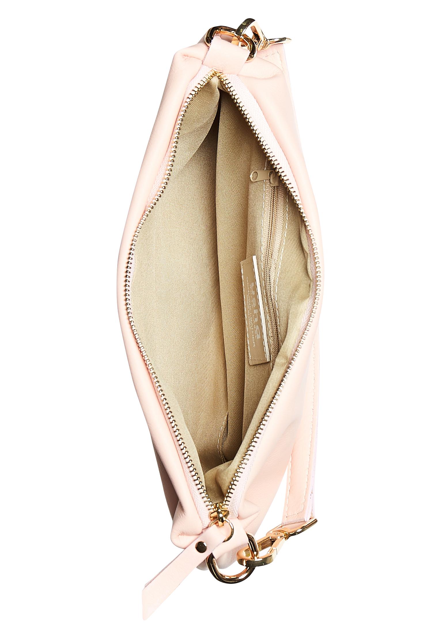 Usha WHITE LABEL Schultertasche in pink günstig kaufen