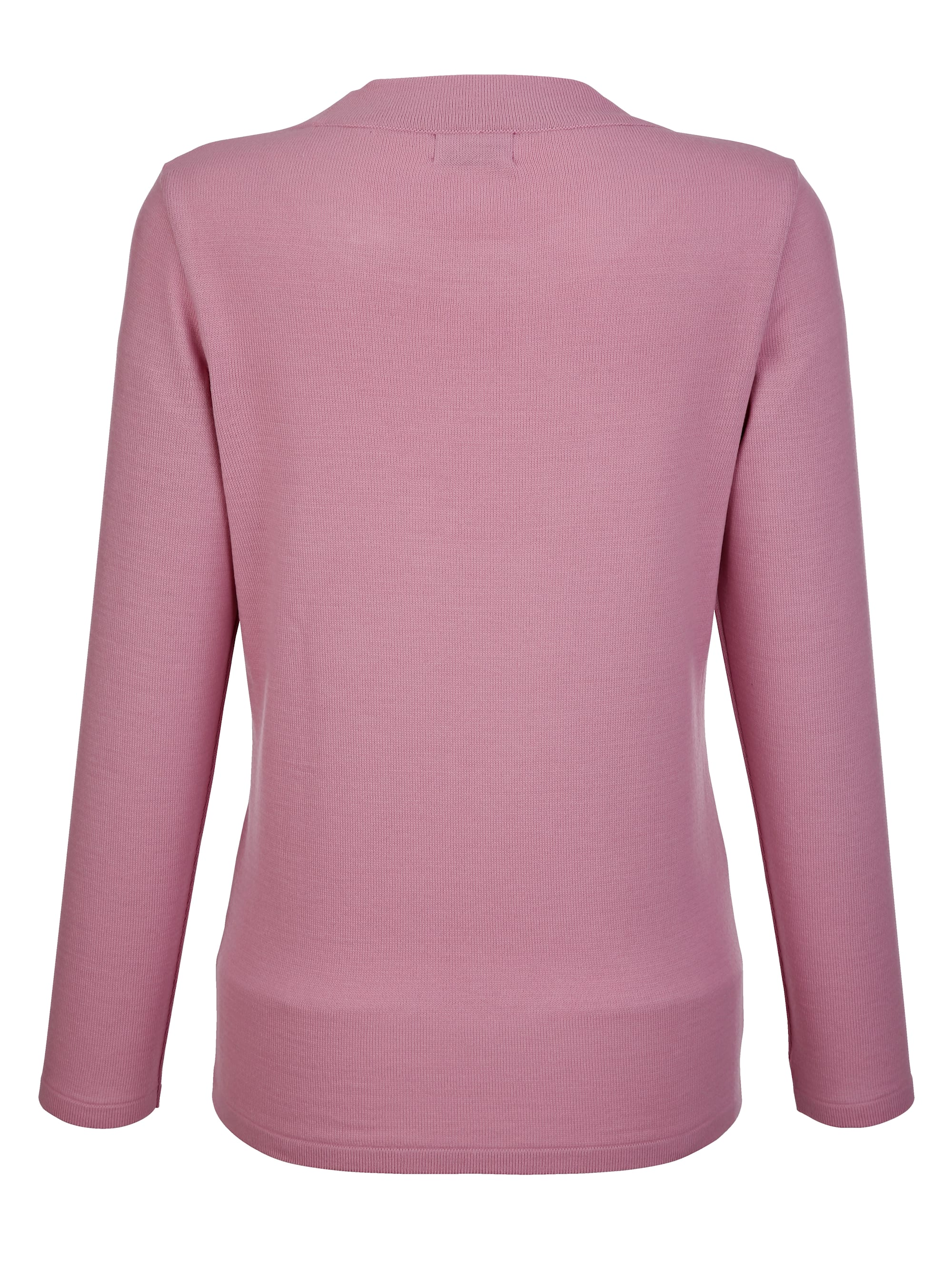 Dress In Pullover in Rosé günstig kaufen