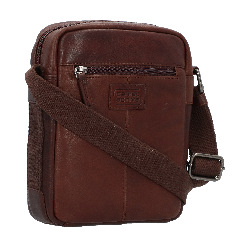 Camel Active Laredo Umhängetasche Leder 20 cm in brown günstig kaufen