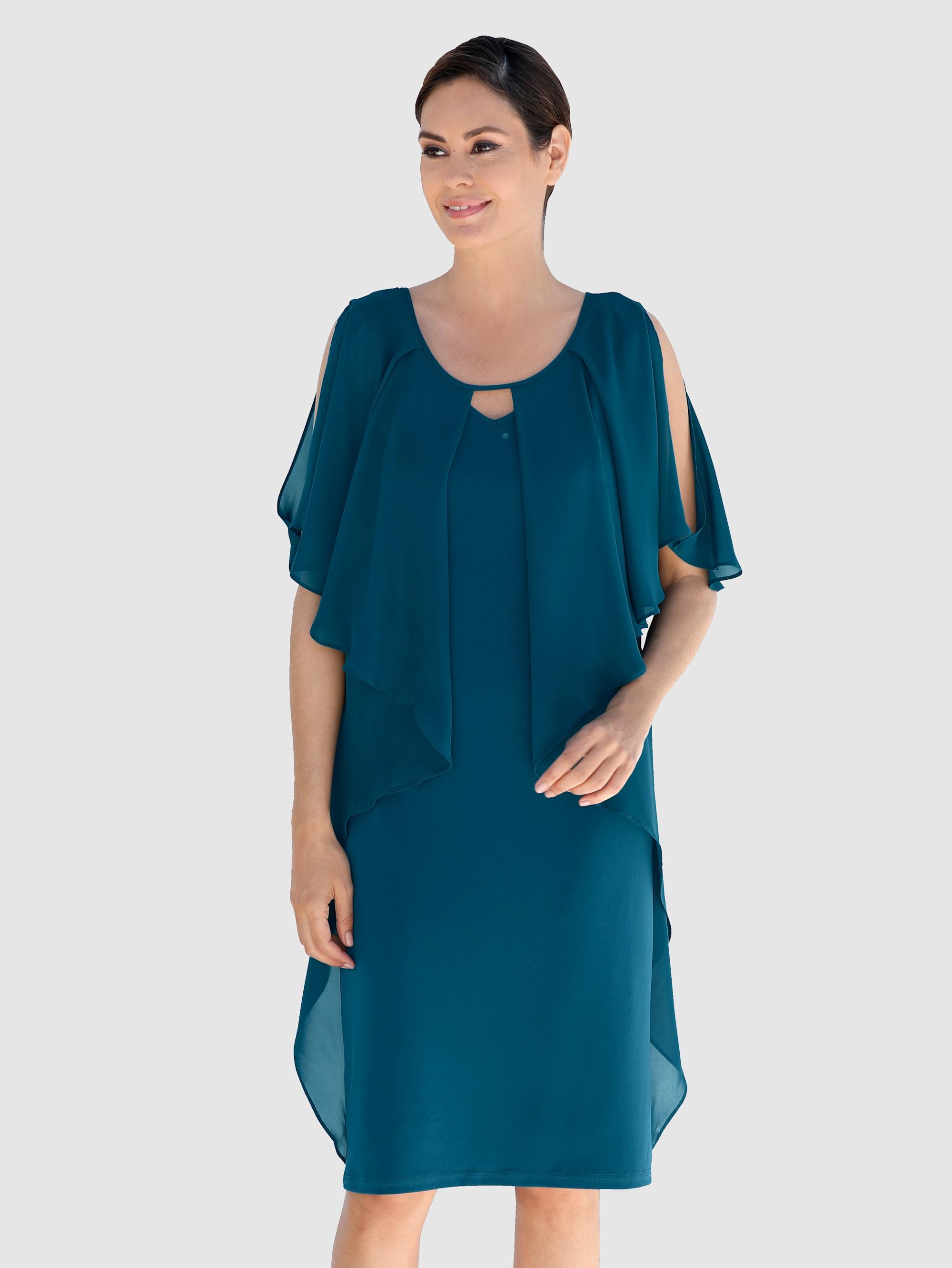 KLiNGEL Kleid in Petrol günstig kaufen
