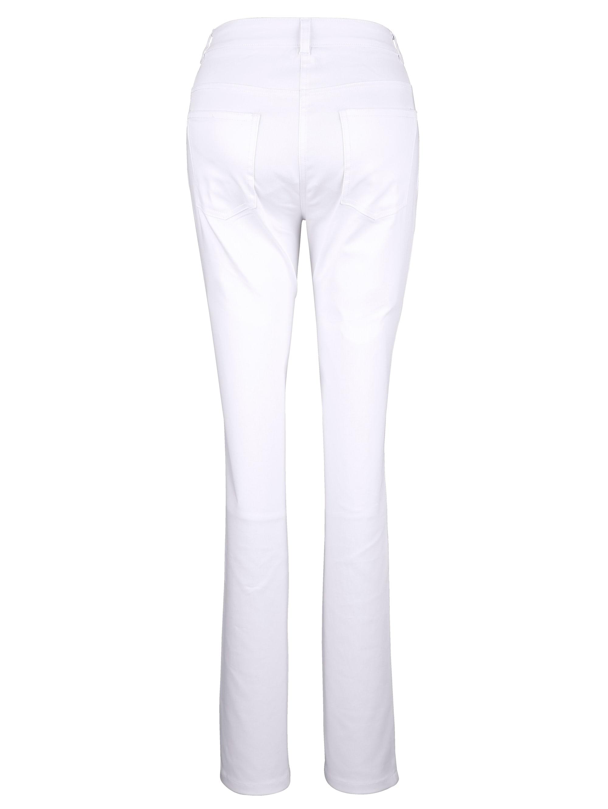 Laura Kent Hose in Weiß günstig kaufen