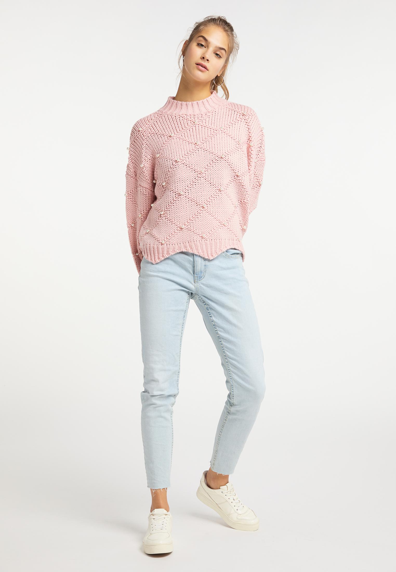 MyMo Pullover in rosa günstig kaufen