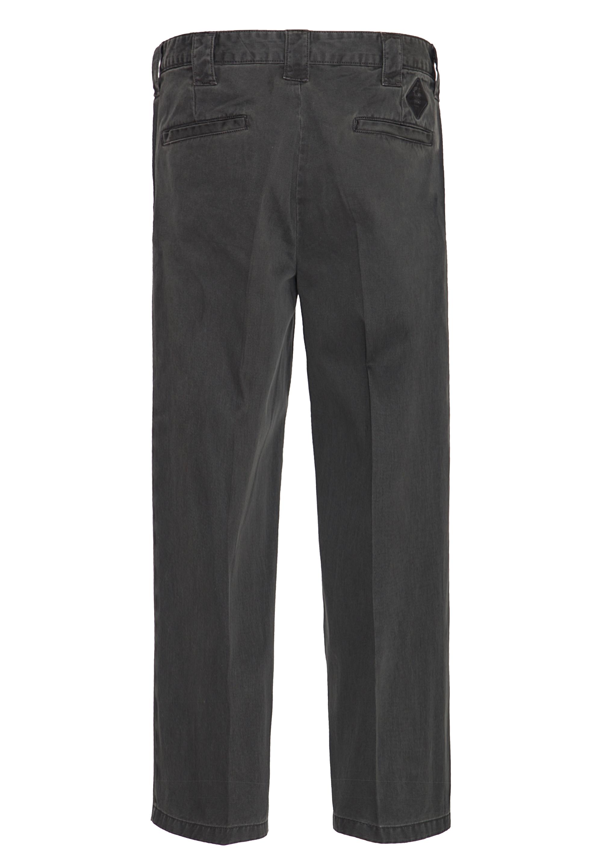 King Kerosin Workwear Hose mit Oil Washed Optik in anthrazit günstig kaufen