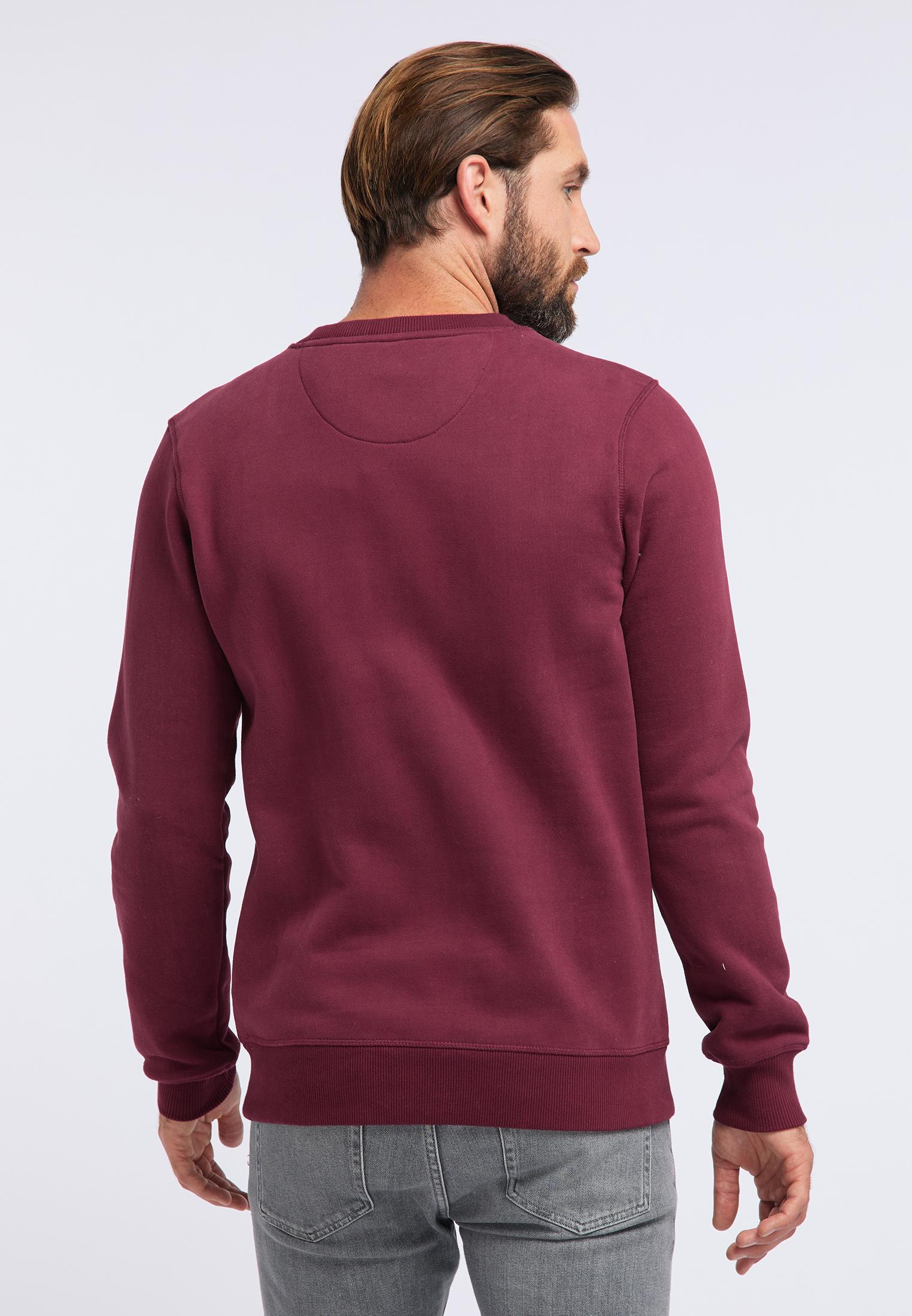 DreiMaster Maritim Sweatshirt in weinrot günstig kaufen