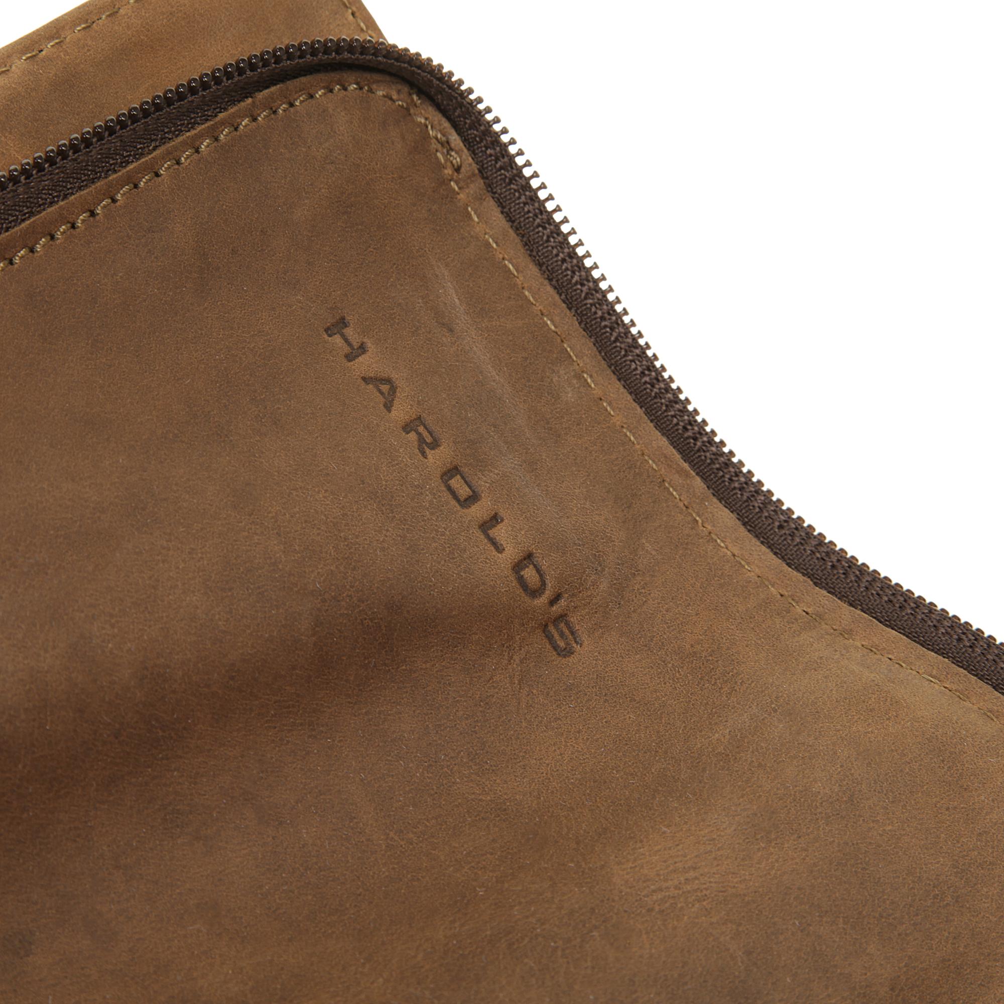 Harold's Notebooktasche 2IN1 in cognac günstig kaufen