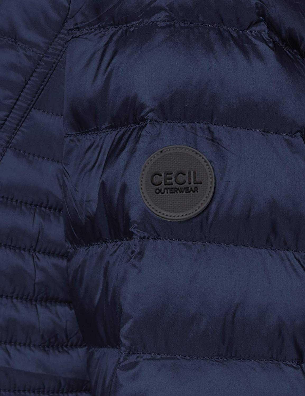 Cecil Winterjacken in dunkel-blau günstig kaufen