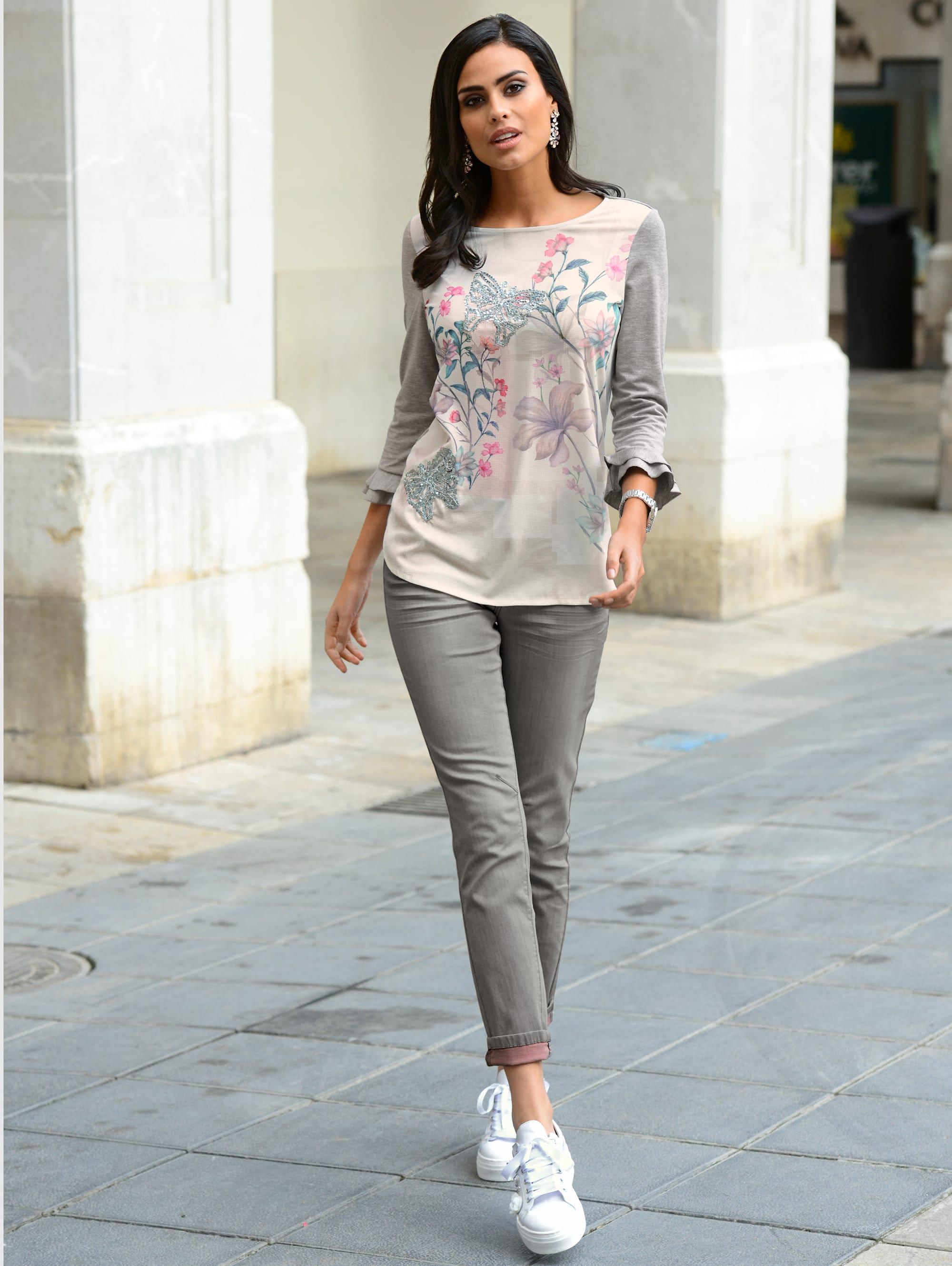 Alba Moda Shirt in Grau,Off-white günstig kaufen