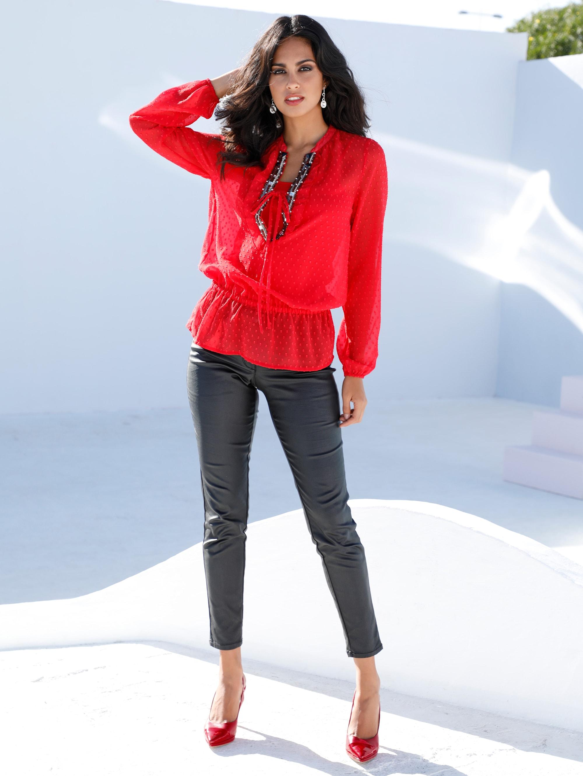 AMY VERMONT Bluse in Rot günstig kaufen
