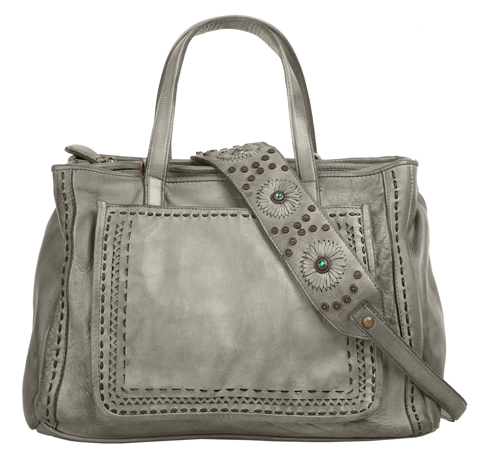 Samantha Look Handtasche in grau günstig kaufen
