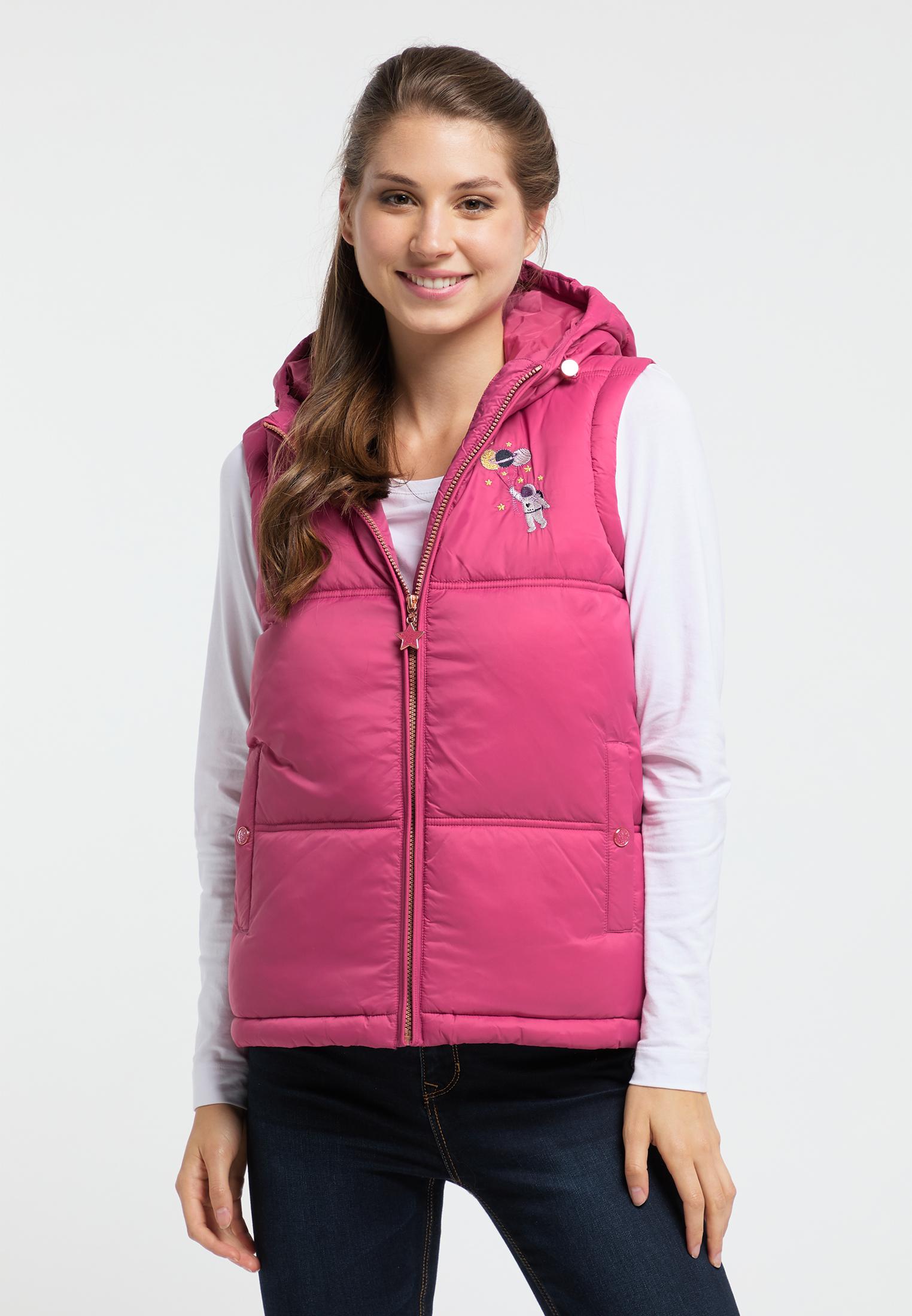 MyMo Weste in rosa günstig kaufen
