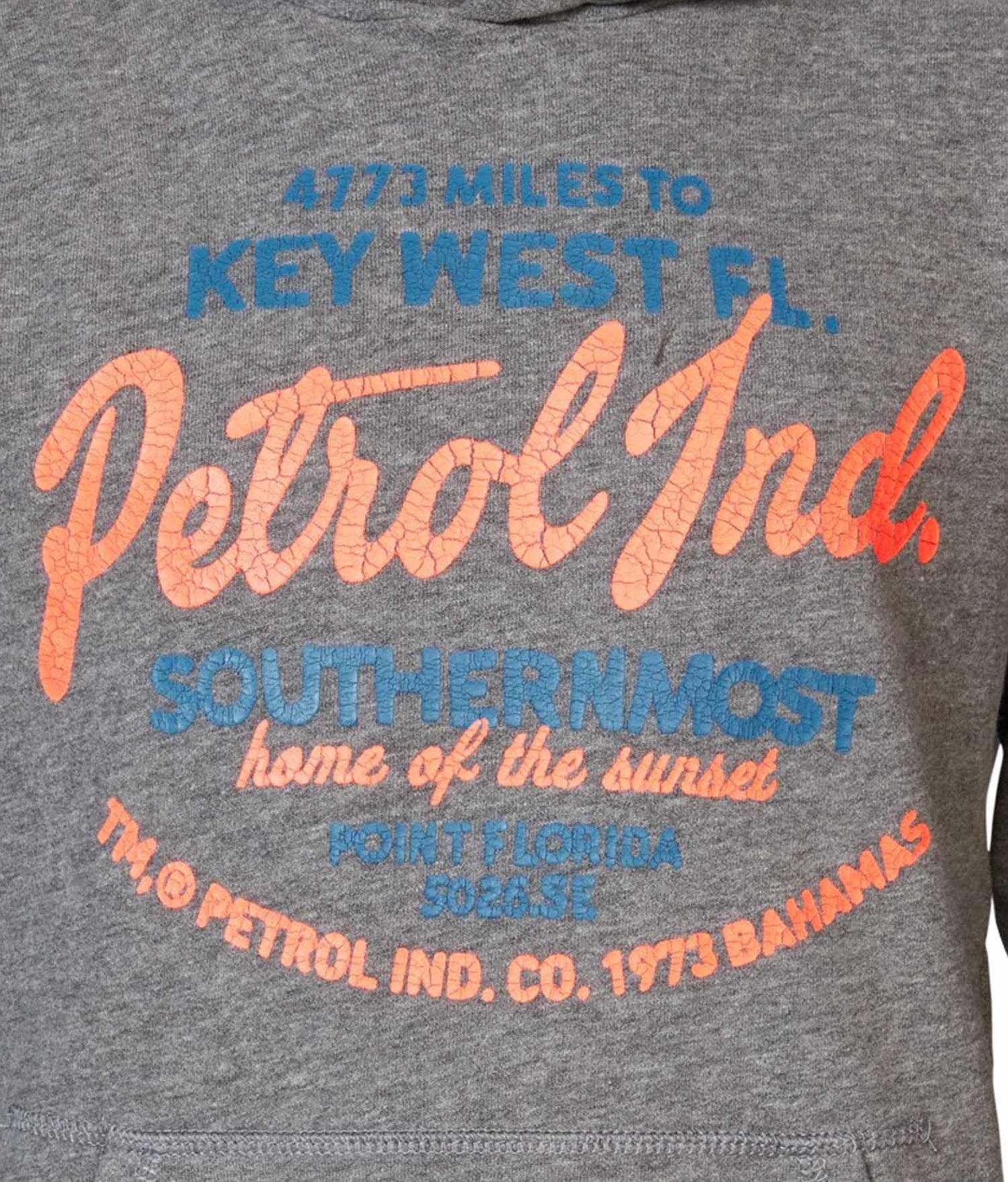Petrol Industries Hoodie in Light Slate Melee günstig kaufen