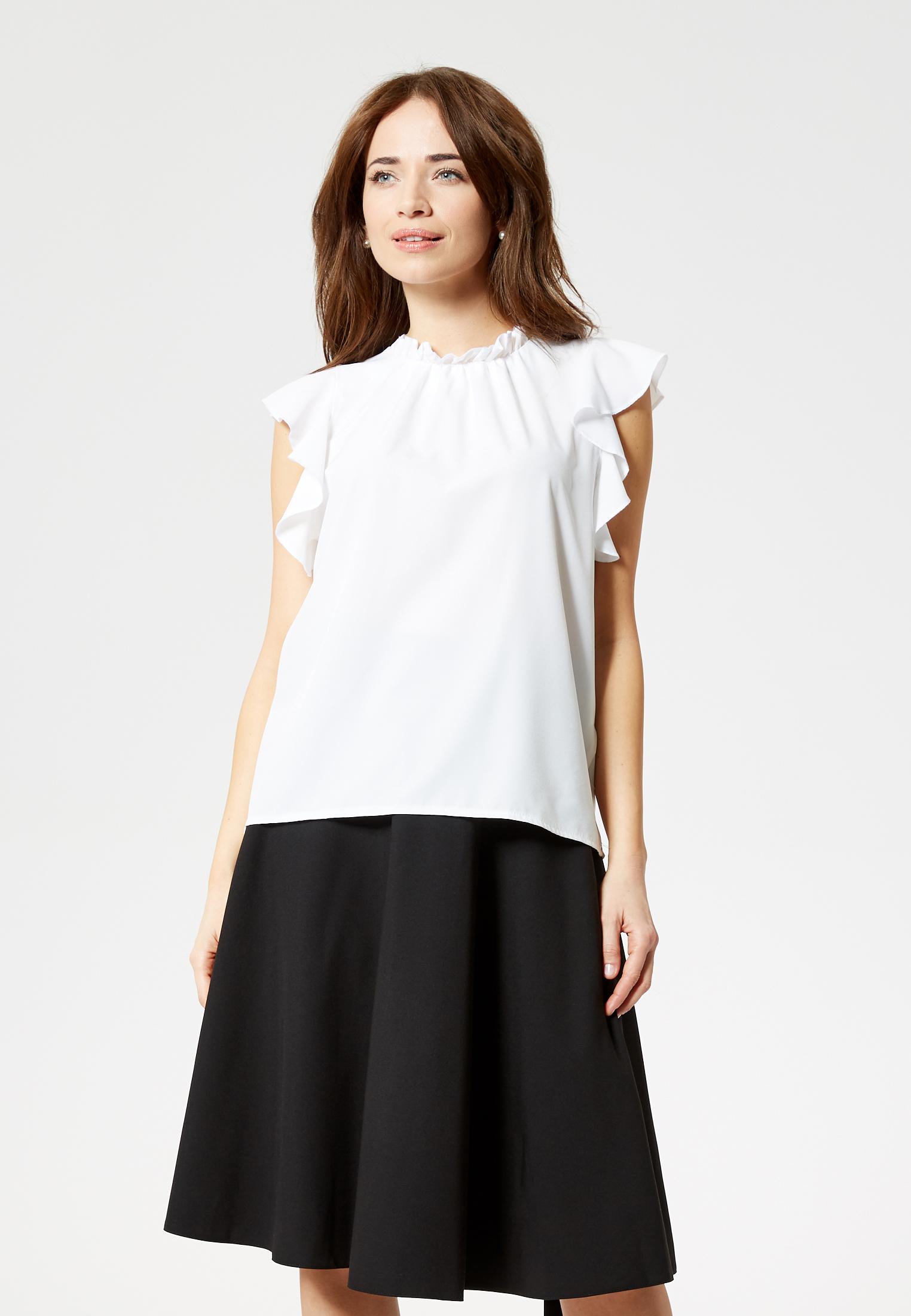 Usha BLACK LABEL Bluse in ecru günstig kaufen