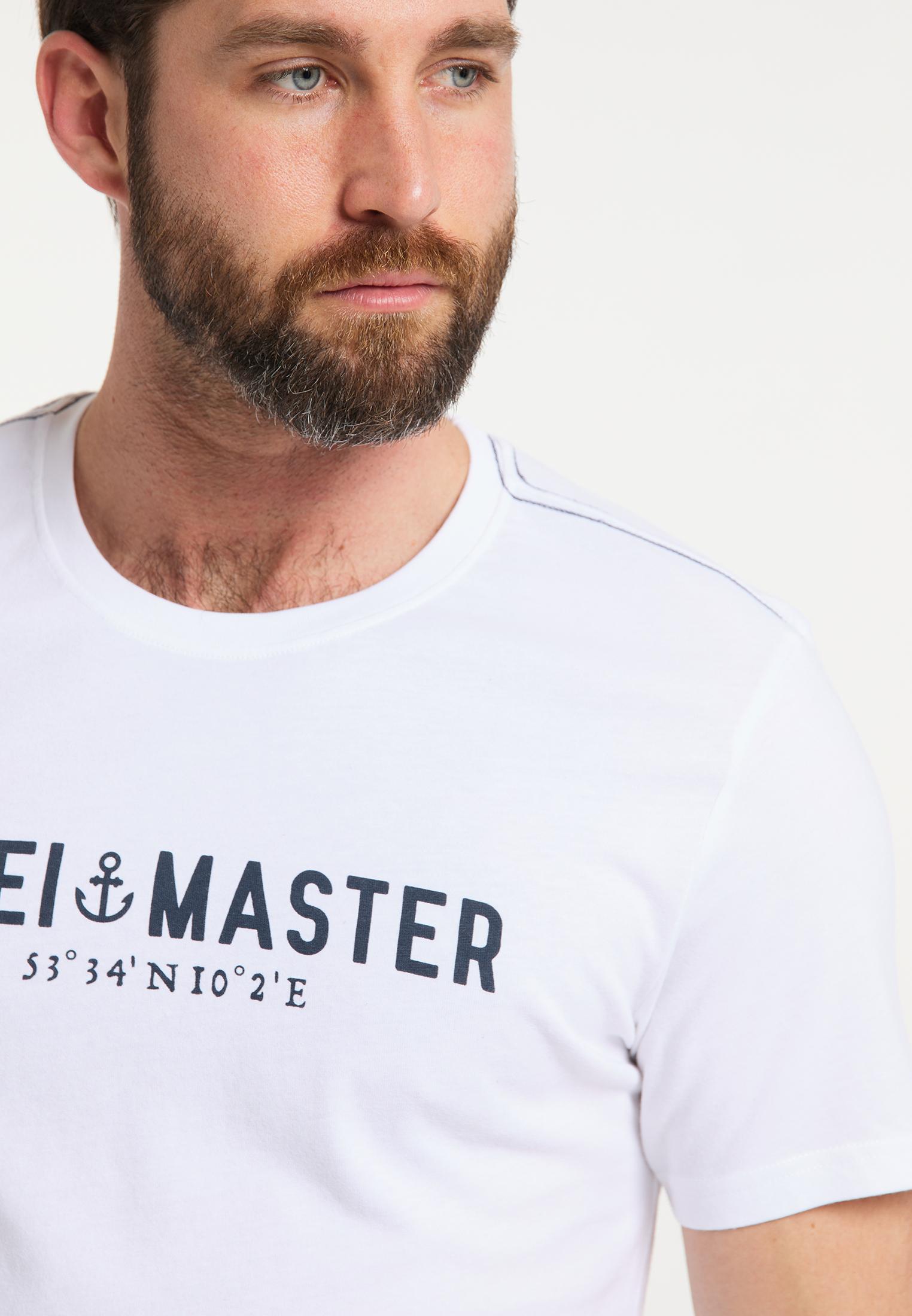 DreiMaster Vintage T-Shirt in weiss günstig kaufen