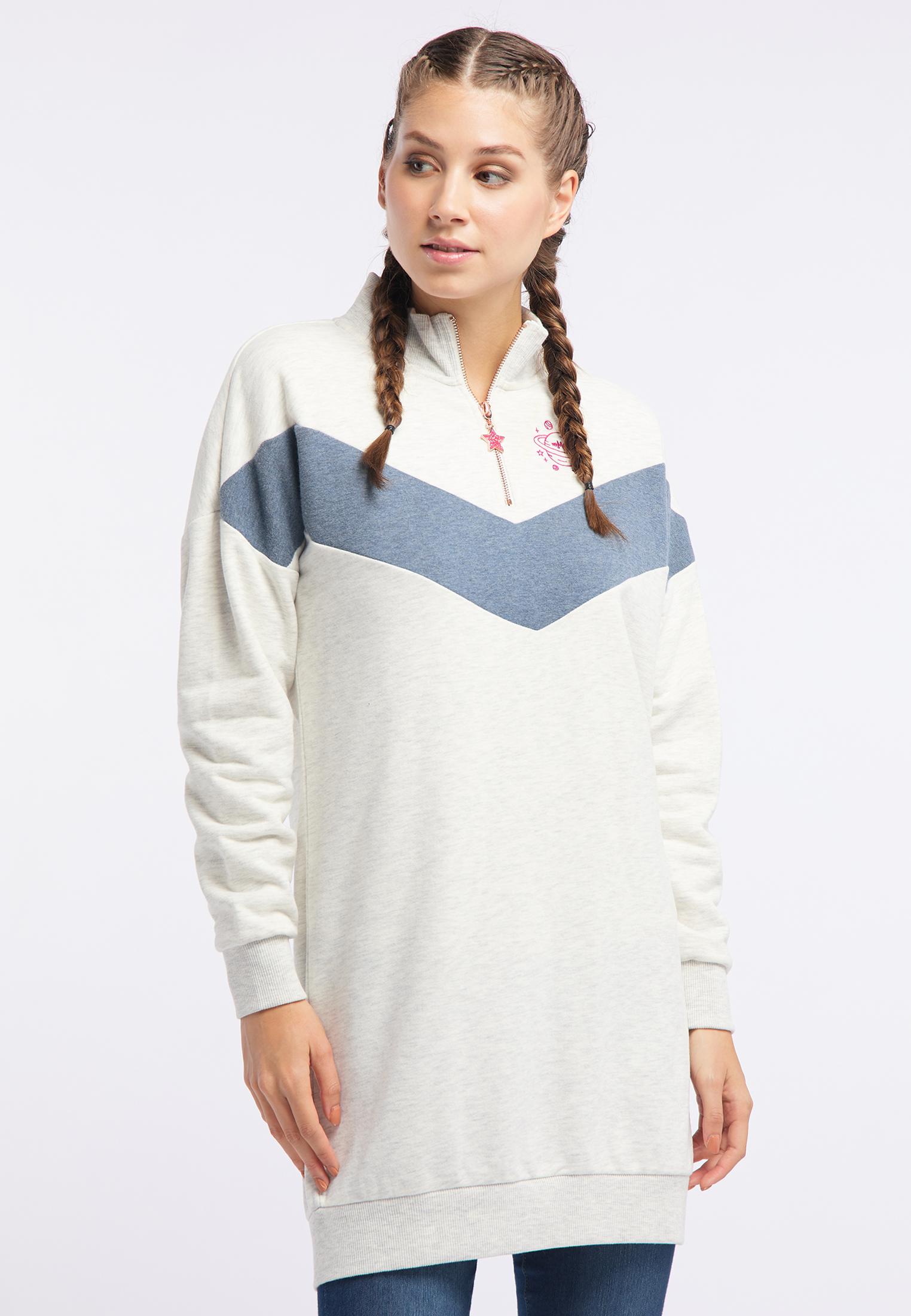 MyMo Sweatshirt in wollweiß melange günstig kaufen