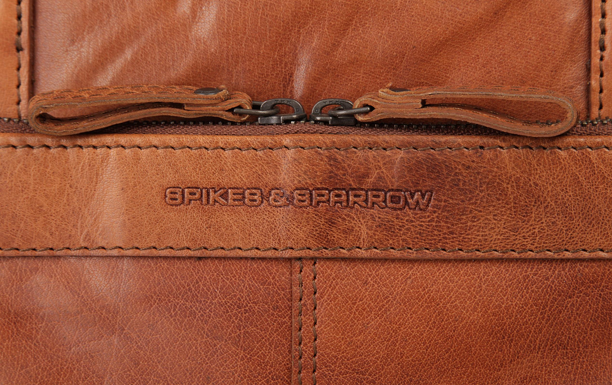 SPIKES & SPARROW Shopper in cognac günstig kaufen