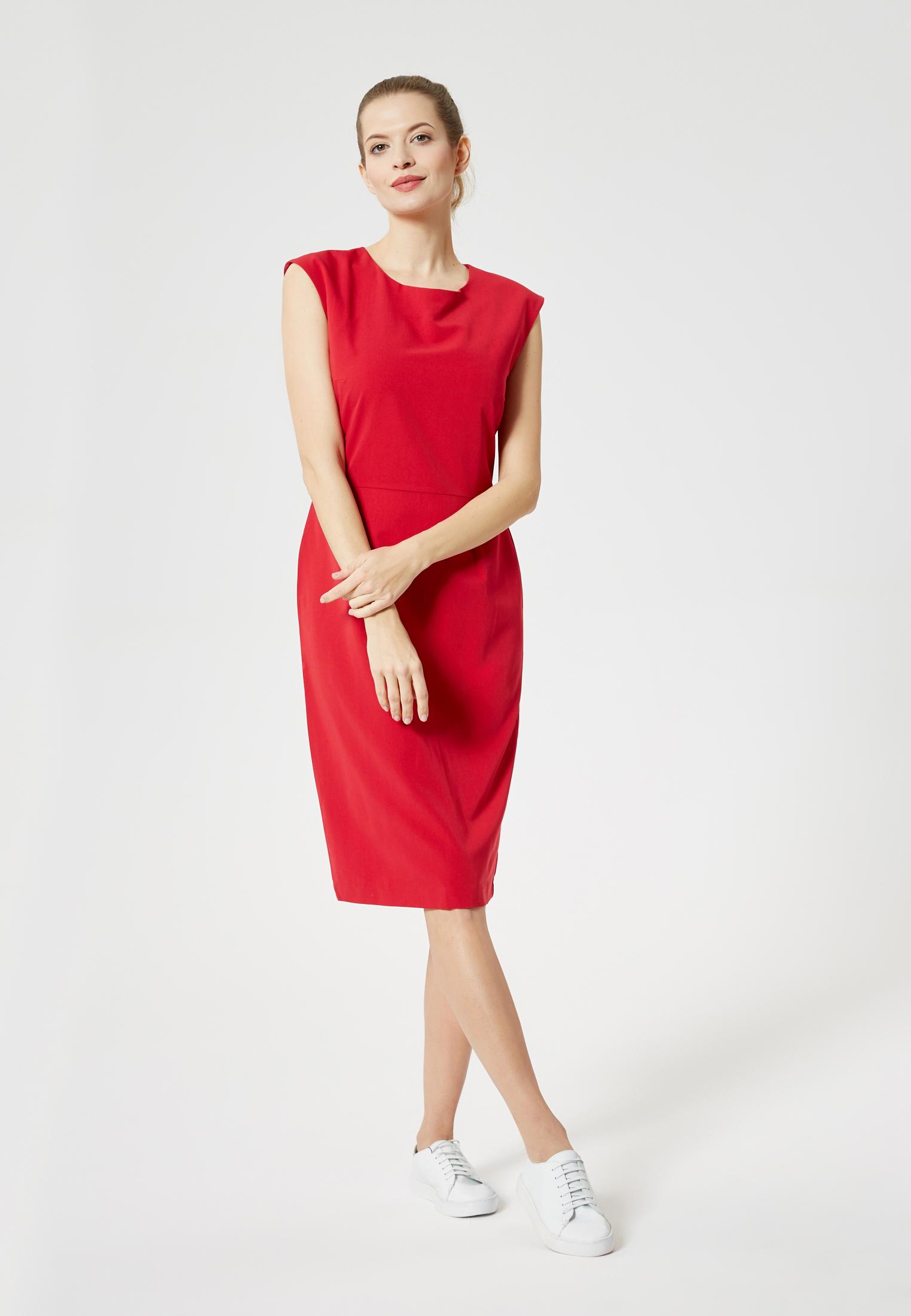 DreiMaster Maritim Kleid in rot günstig kaufen