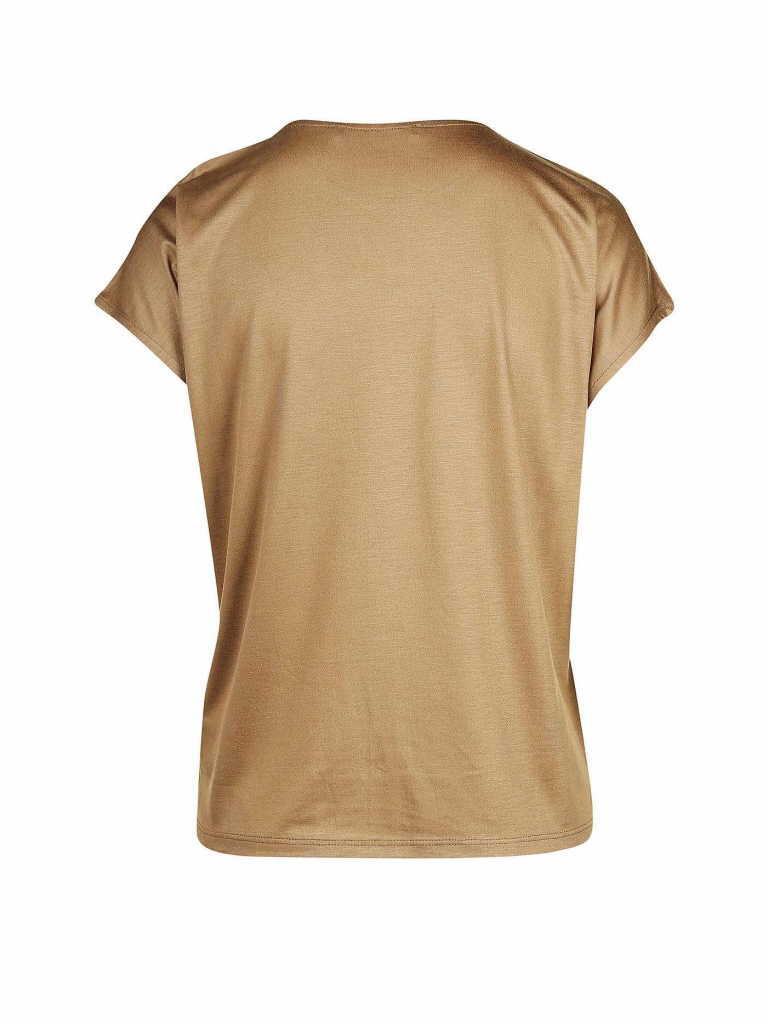 Someday Rundhals T-Shirt in braun günstig kaufen
