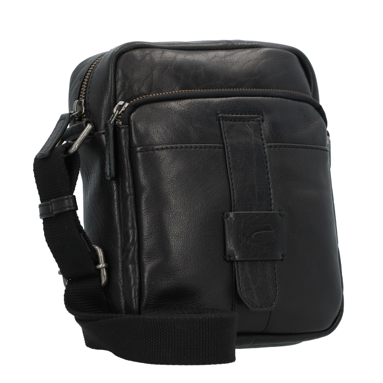 Camel Active Imperial Umhängetasche Leder 19 cm in black günstig kaufen