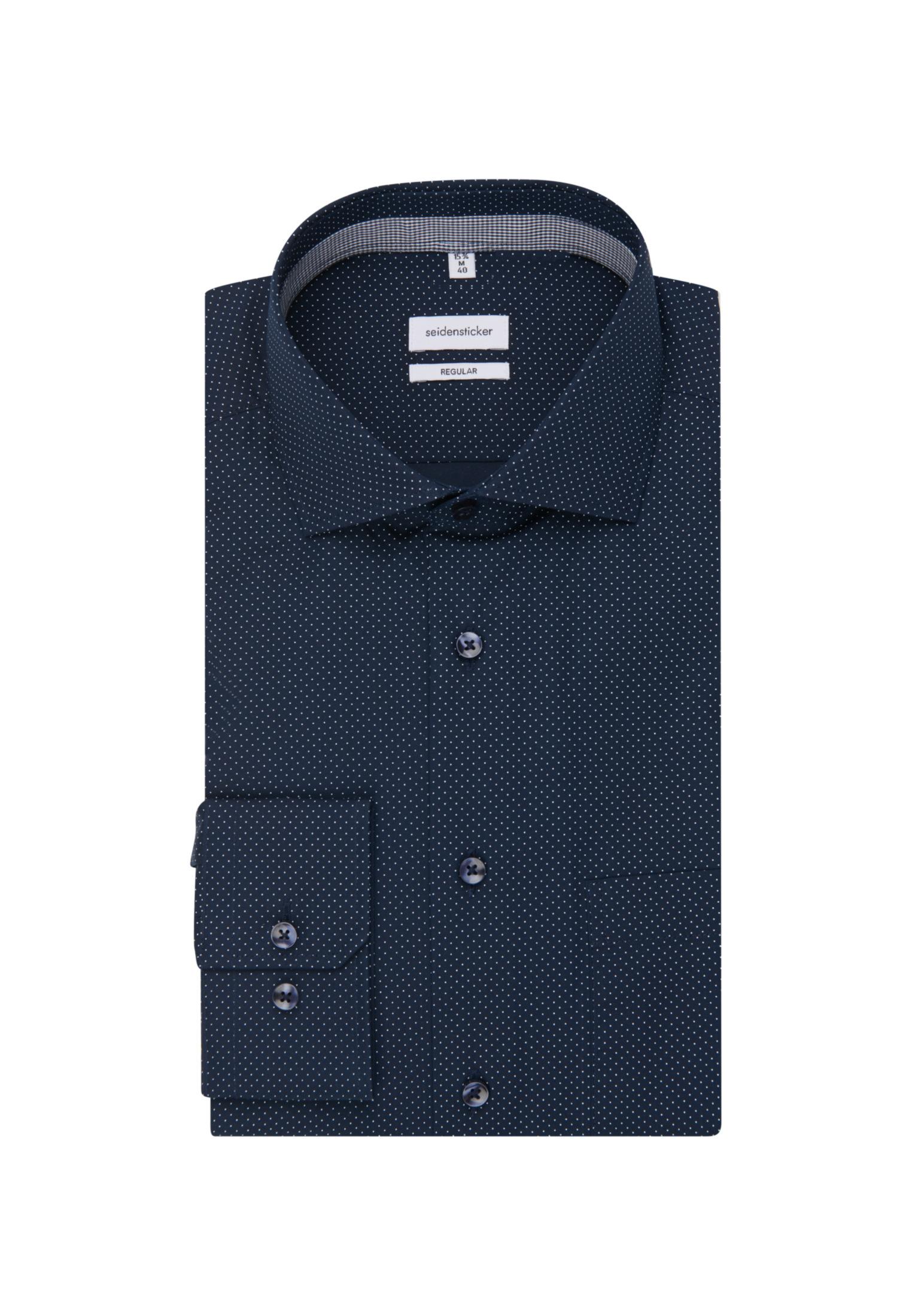 Seidensticker Business Hemd Regular in Dunkelblau günstig kaufen