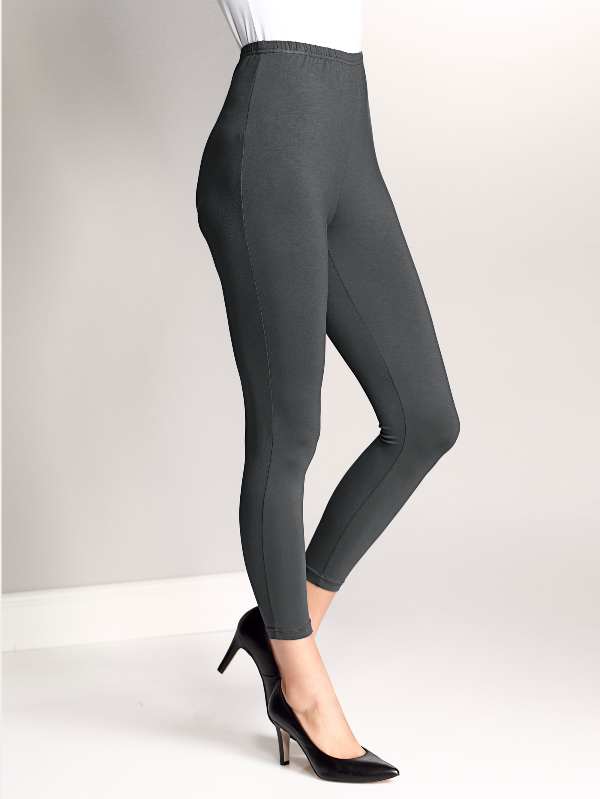 Alba Moda Leggings in Anthrazit günstig kaufen