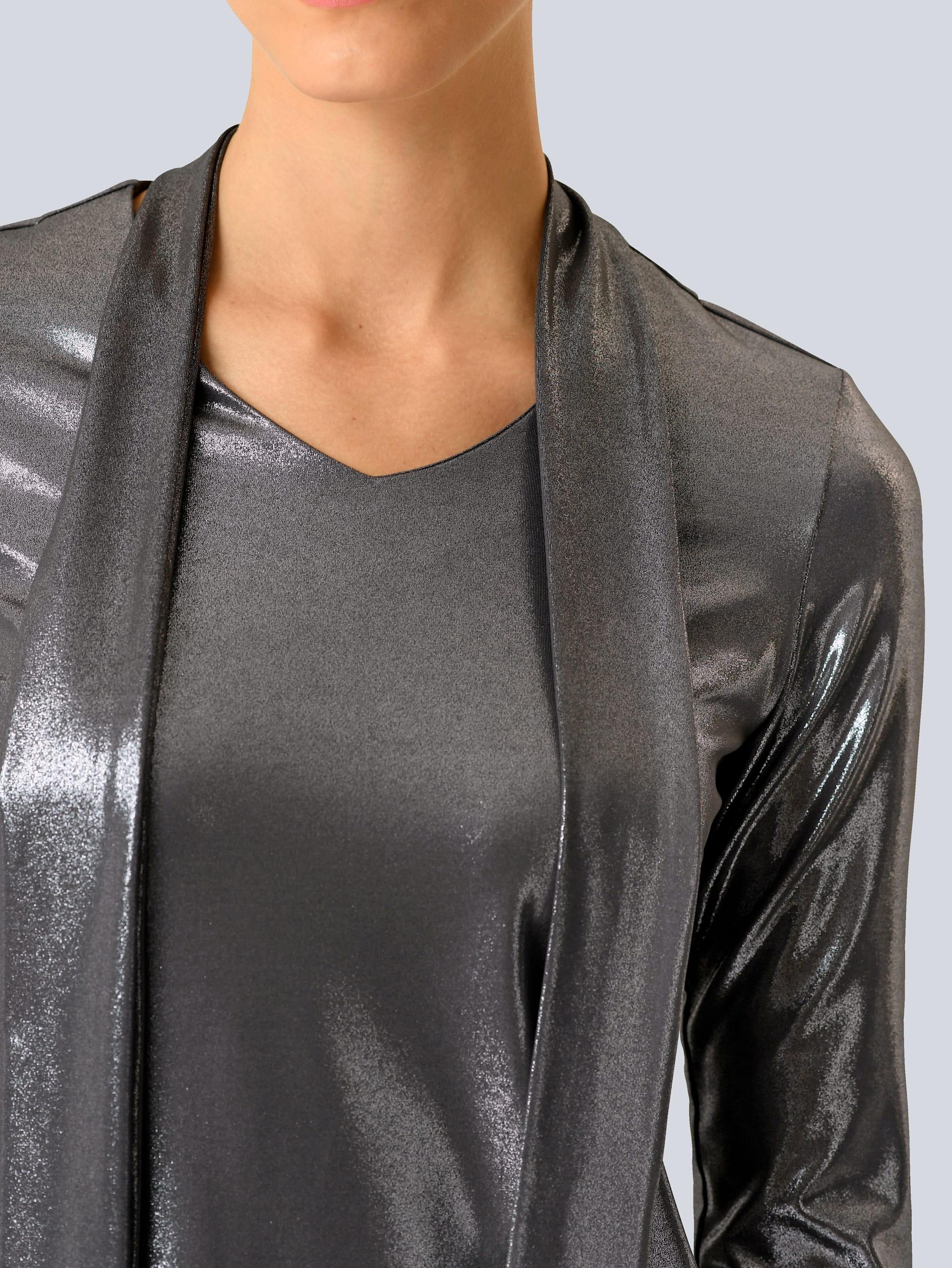 Alba Moda Shirt in Silberfarben günstig kaufen