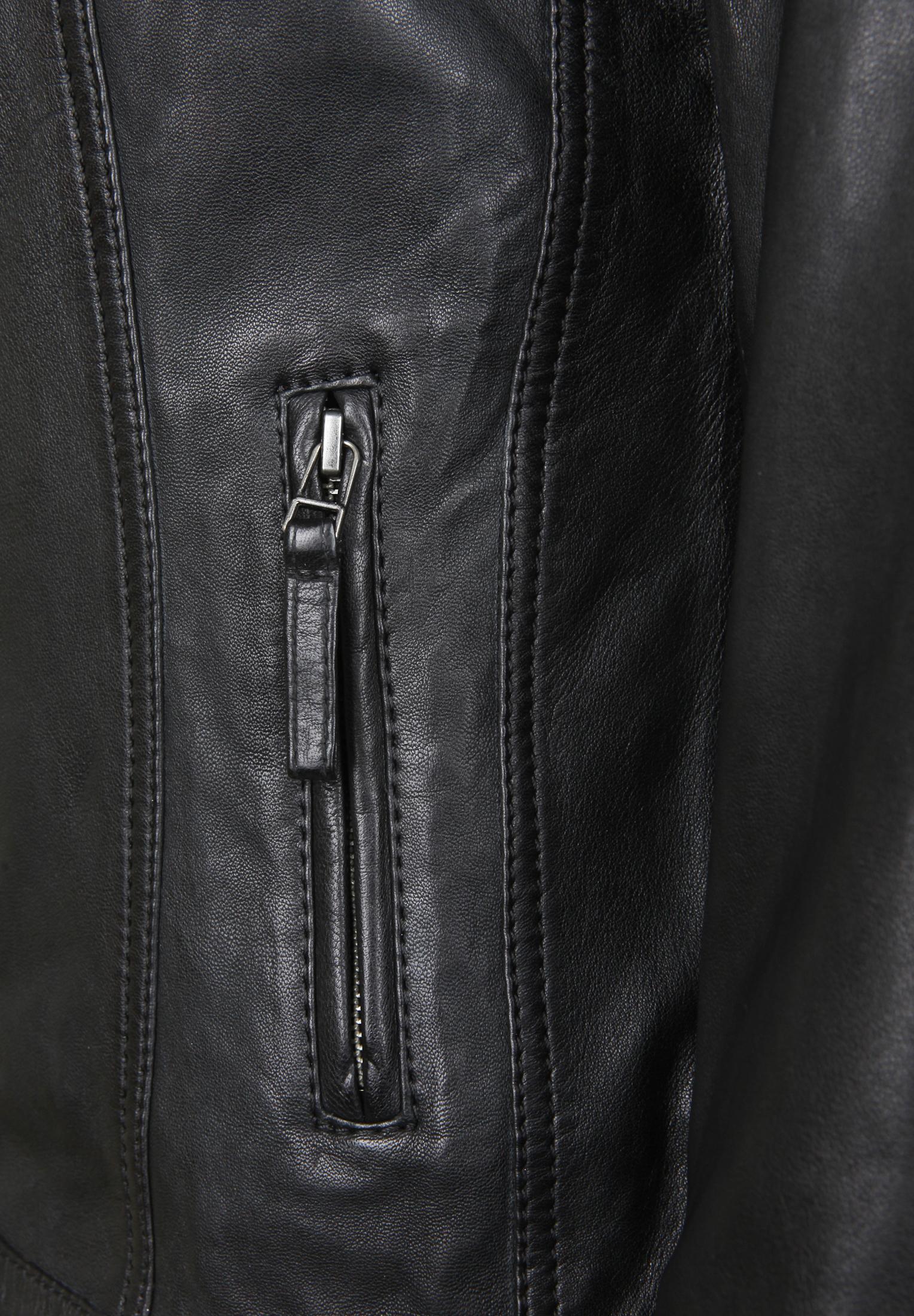 7eleven Lederjacke GRACE in black günstig kaufen