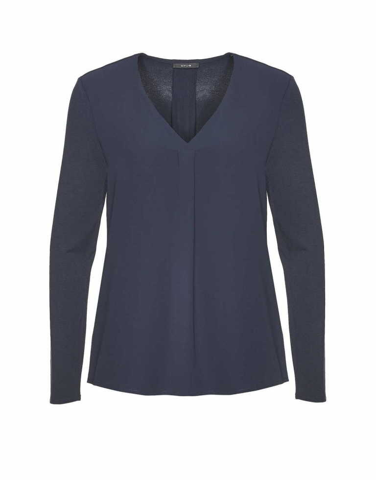 OPUS Blusen in dunkel-blau günstig kaufen