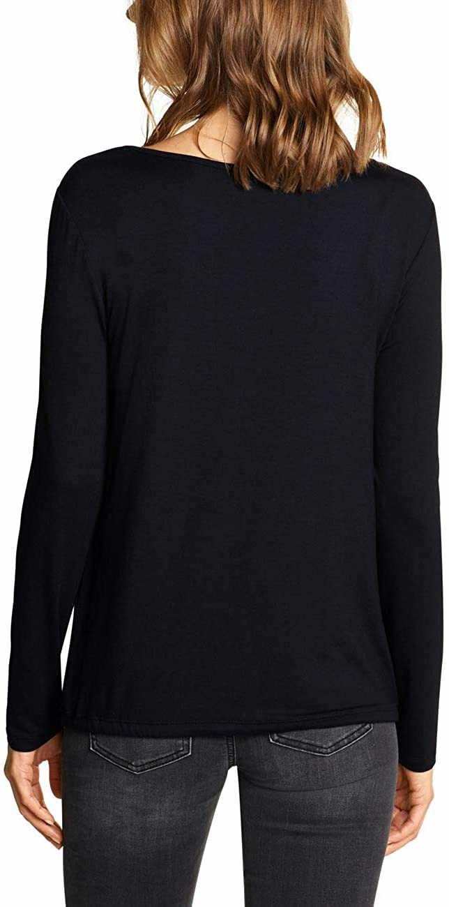 Street One Shirts in schwarz günstig kaufen