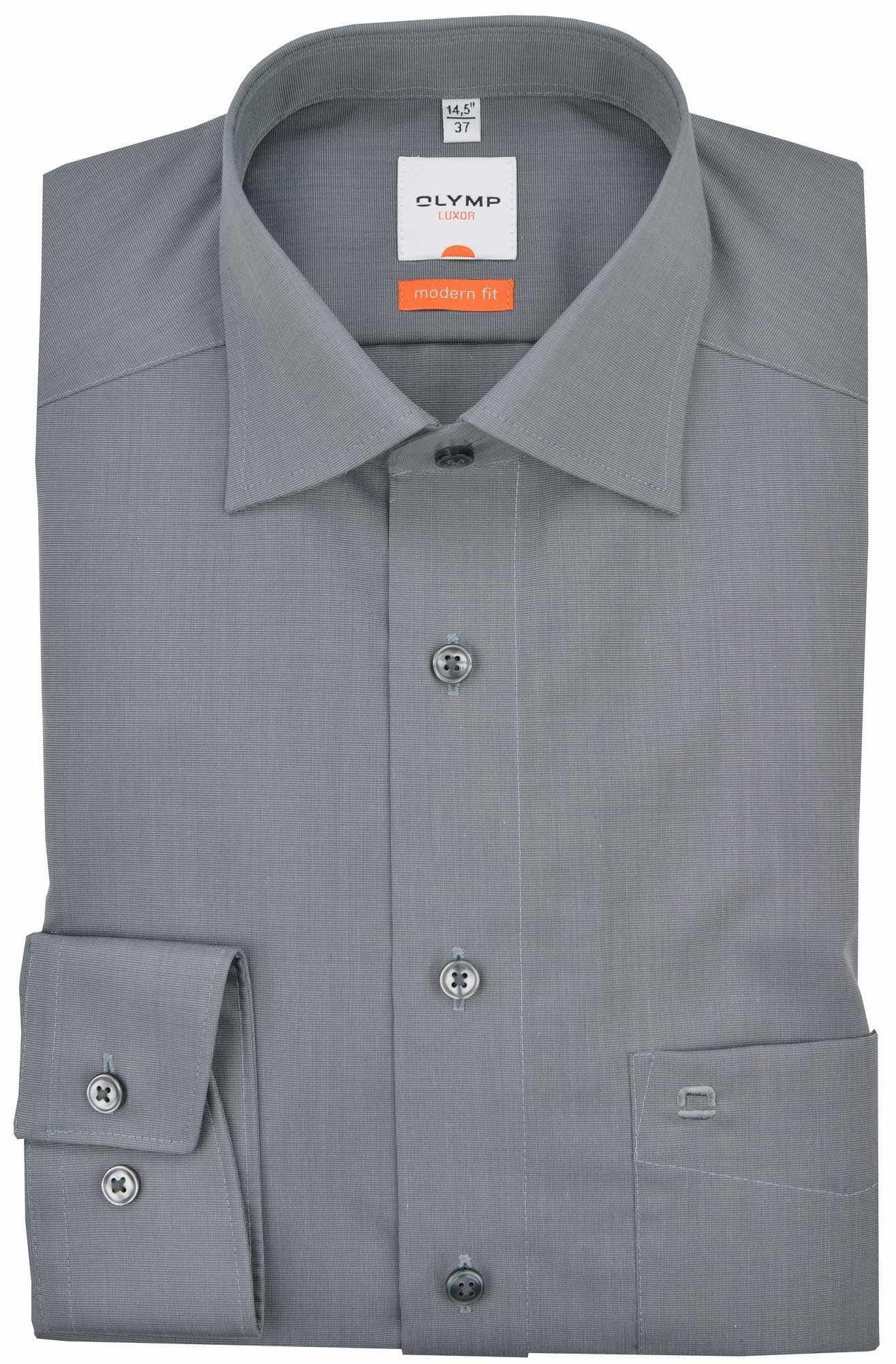 OLYMP  Hemden in grau günstig kaufen