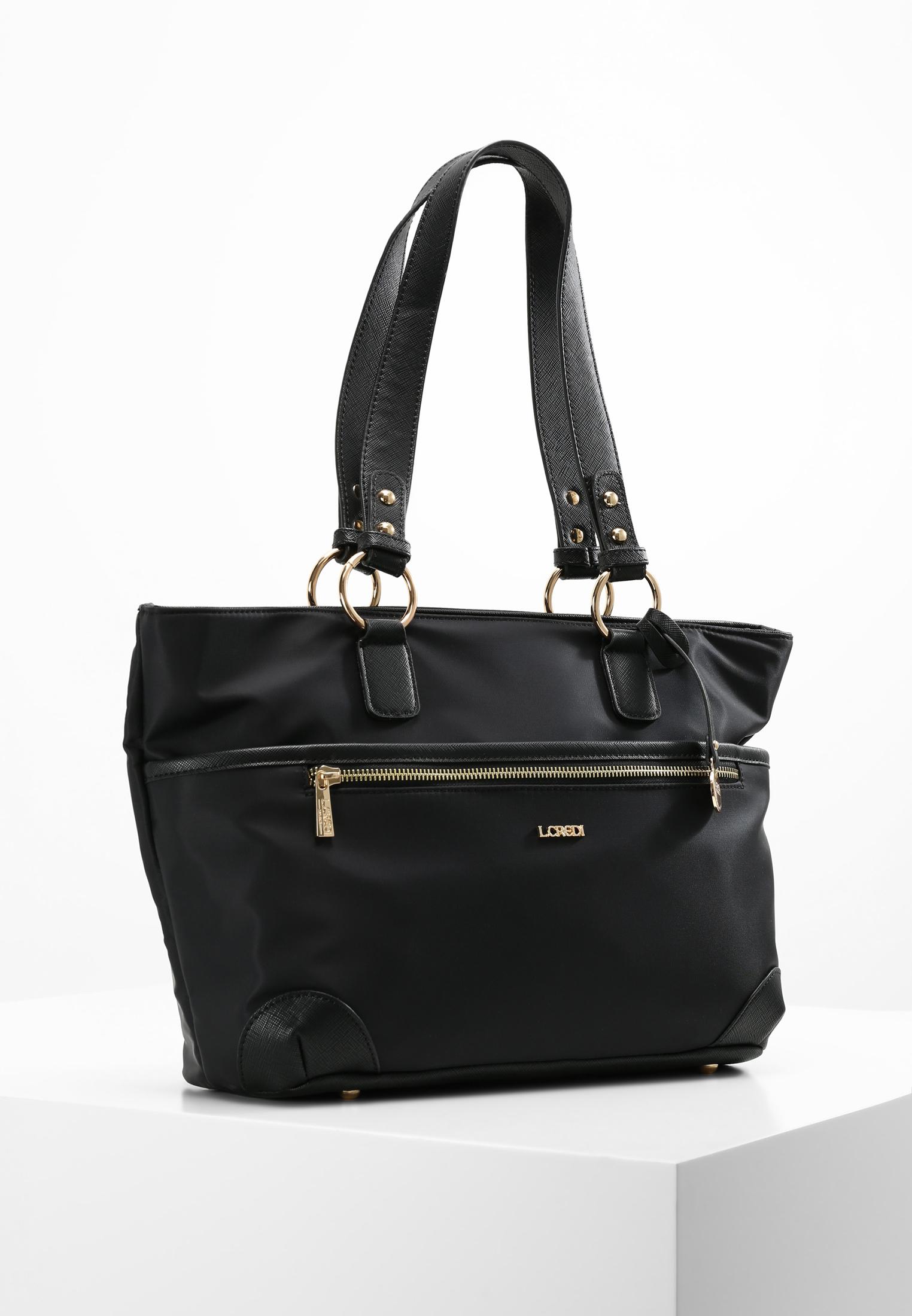 L.Credi Shopper Alena Shopper in schwarz günstig kaufen