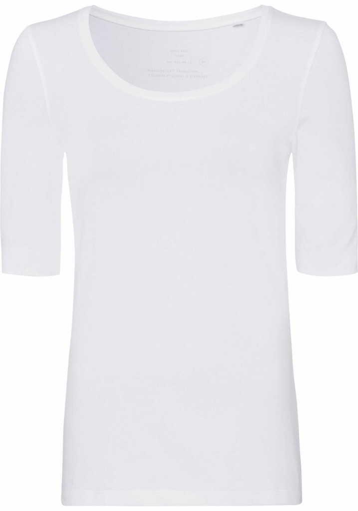 OPUS Rundhals T-Shirt in weiß günstig kaufen