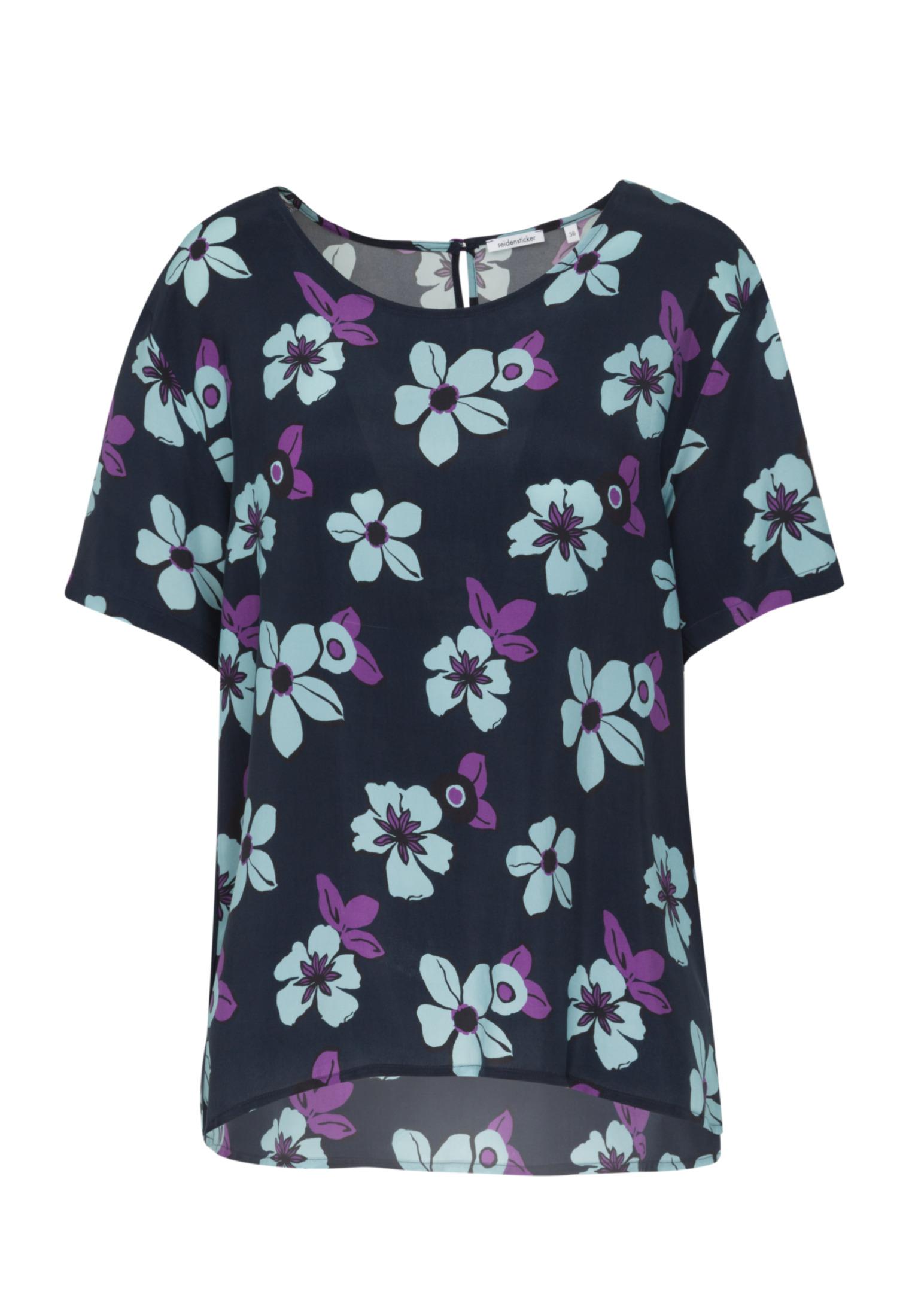 Seidensticker Shirtbluse Regular fit in Dunkelblau günstig kaufen