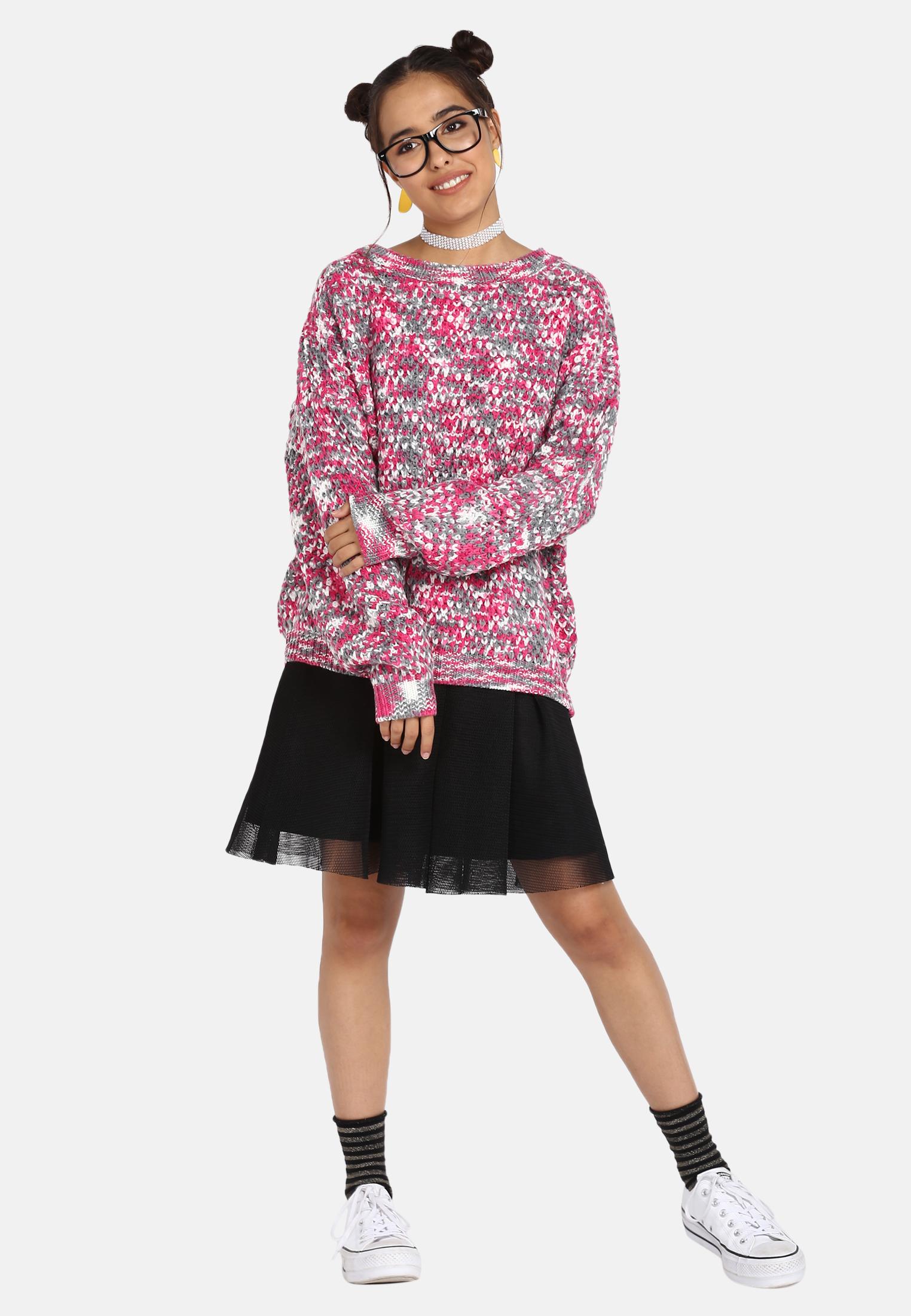 MyMo Pullover in multicolor günstig kaufen